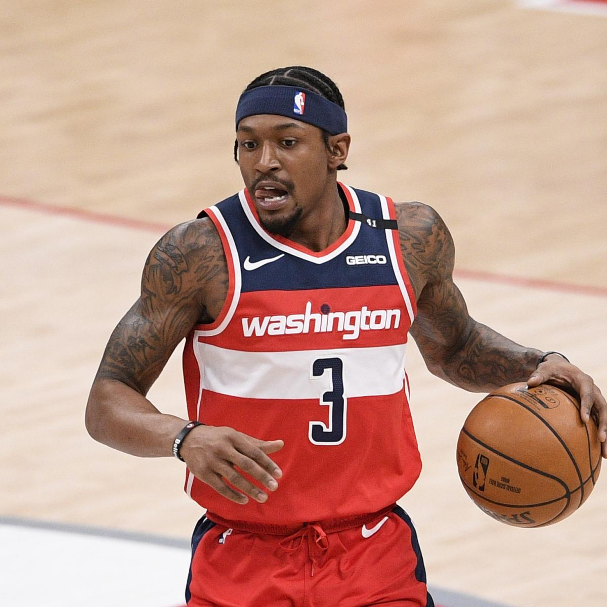 <p>Bradley Beal Trade Rumors: Knicks Exec William Wesley Trying to Steer Star to NY thumbnail