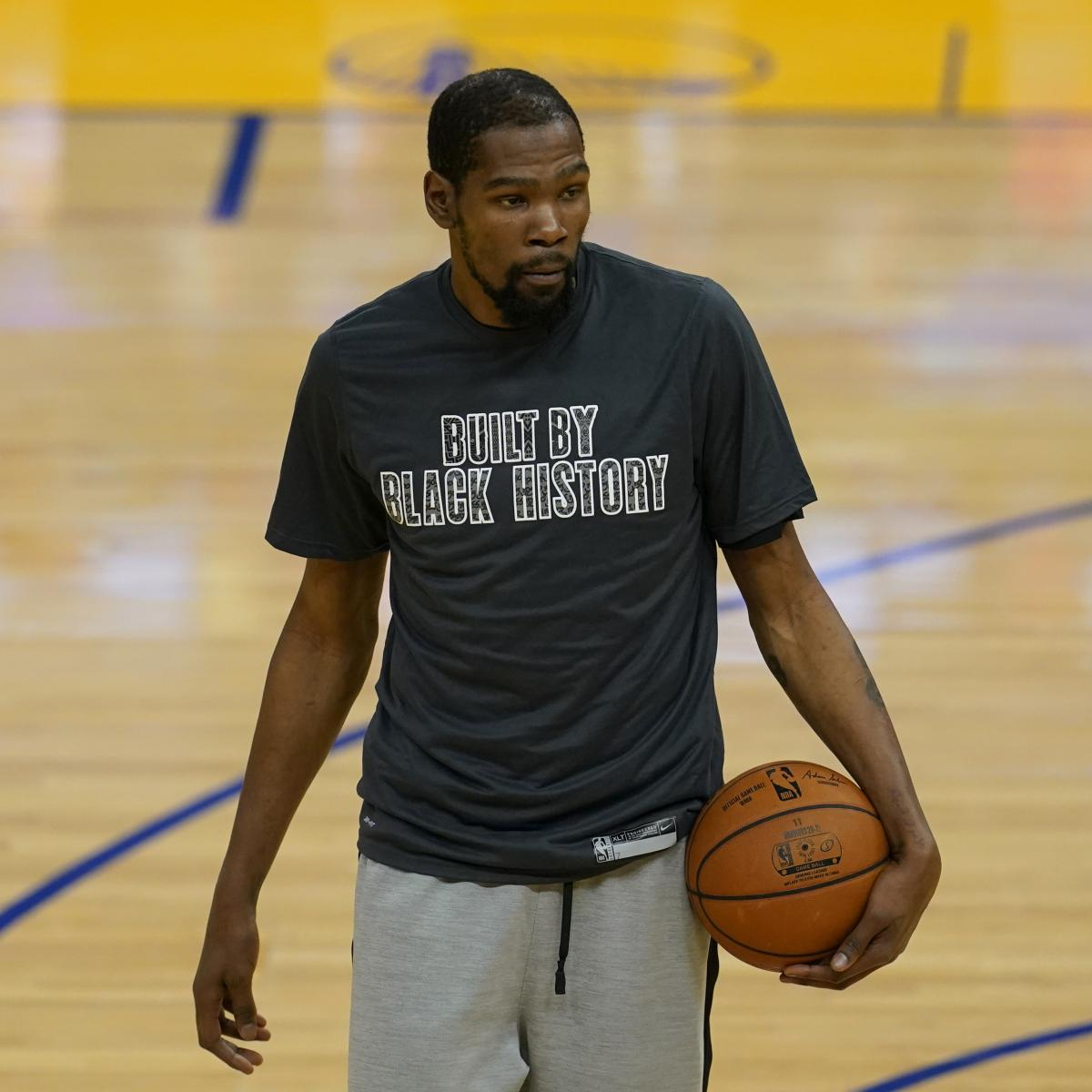 <p>Kevin Durant Ruled Out for Nets vs. Clippers with Hamstring Injury thumbnail