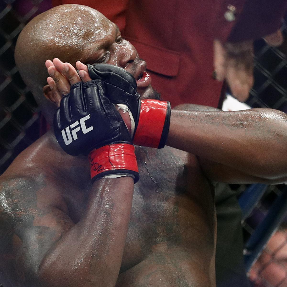 Derrick Lewis References WWE's Undertaker After UFC Knockout vs. Curtis Blaydes