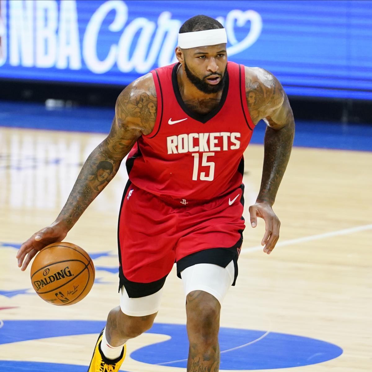 <p>NBA Rumors: DeMarcus Cousins Will Be Released by Rockets Amid Lakers Buzz thumbnail