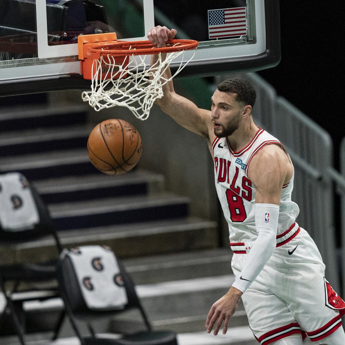 Zach LaVine Says He Probably Won't Participate in 2021 NBA Slam Dunk Contest thumbnail