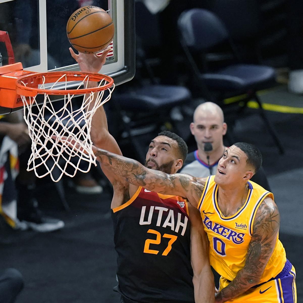 Donovan Mitchell, Jazz Hand LeBron James, Lakers 4th Straight Loss - Bleacher Report