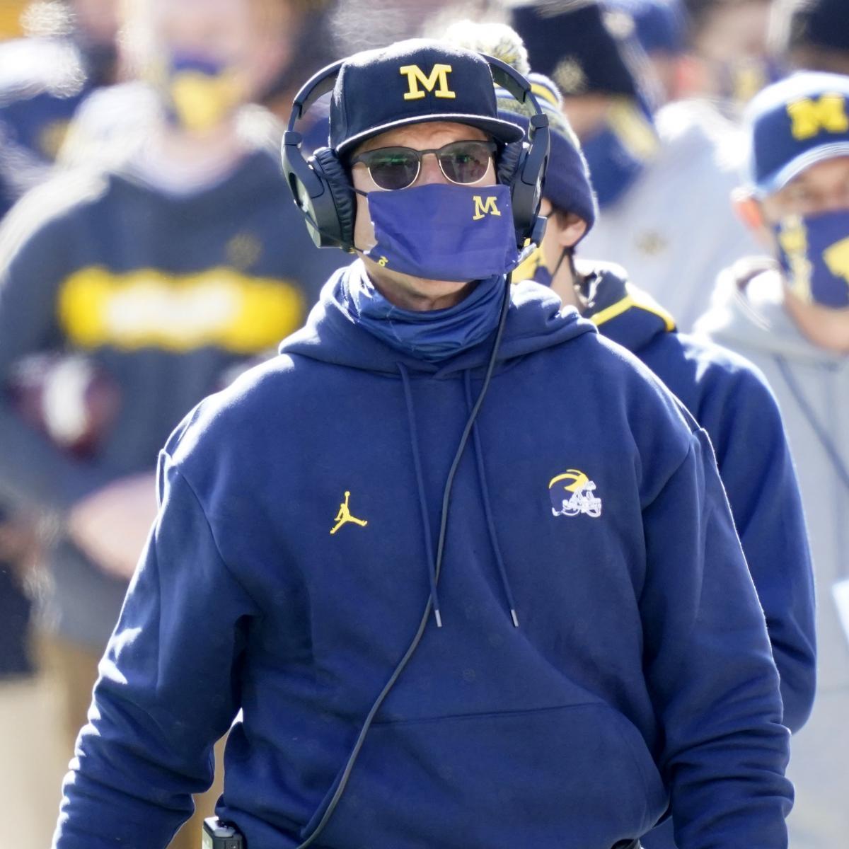 Jim Harbaugh: Michigan Coaching Staff Overhaul Wasn't Because of 'Disconnect'