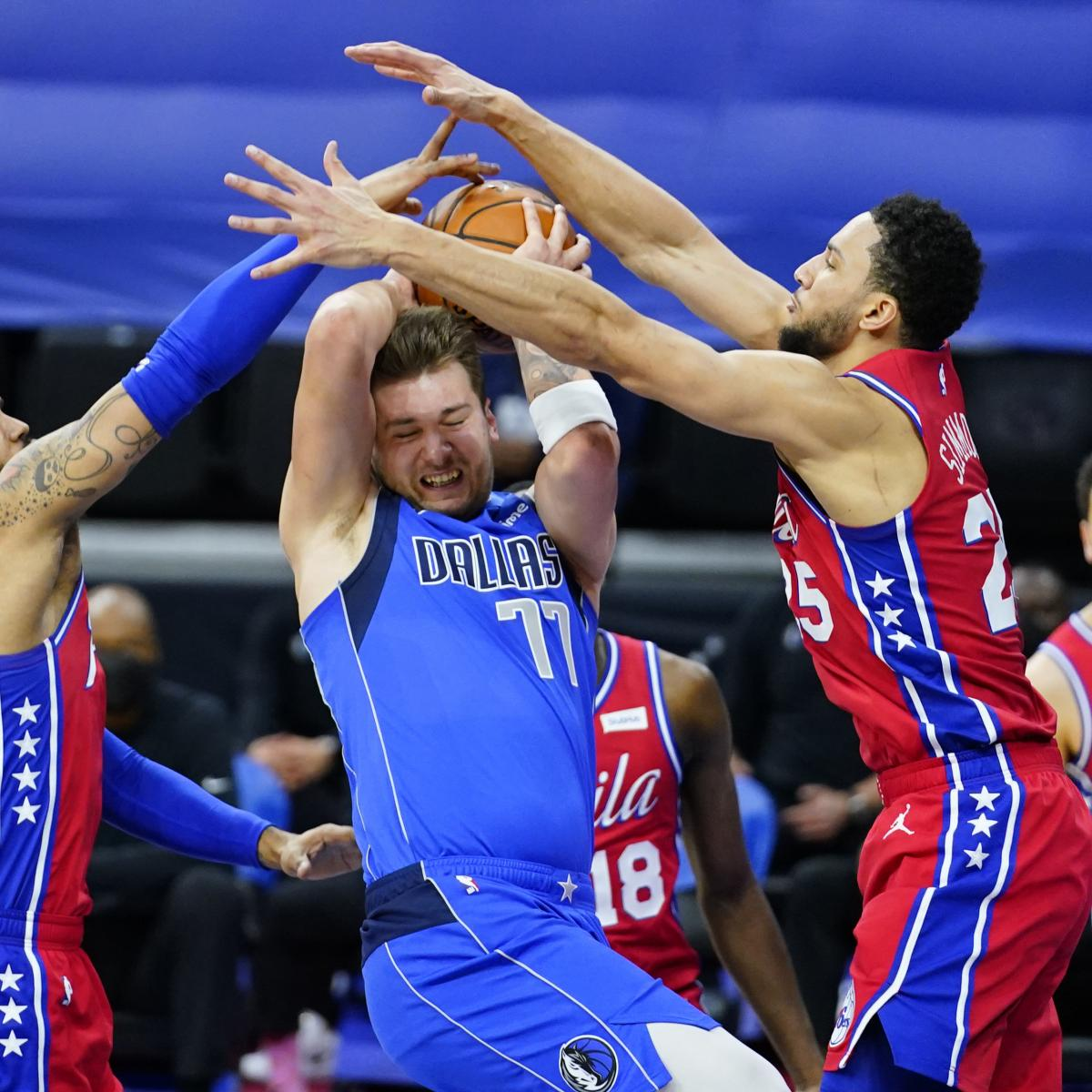 Ben Simmons, Joel Embiid Lead 76ers to Blowout Win vs. Luka Doncic, Mavs