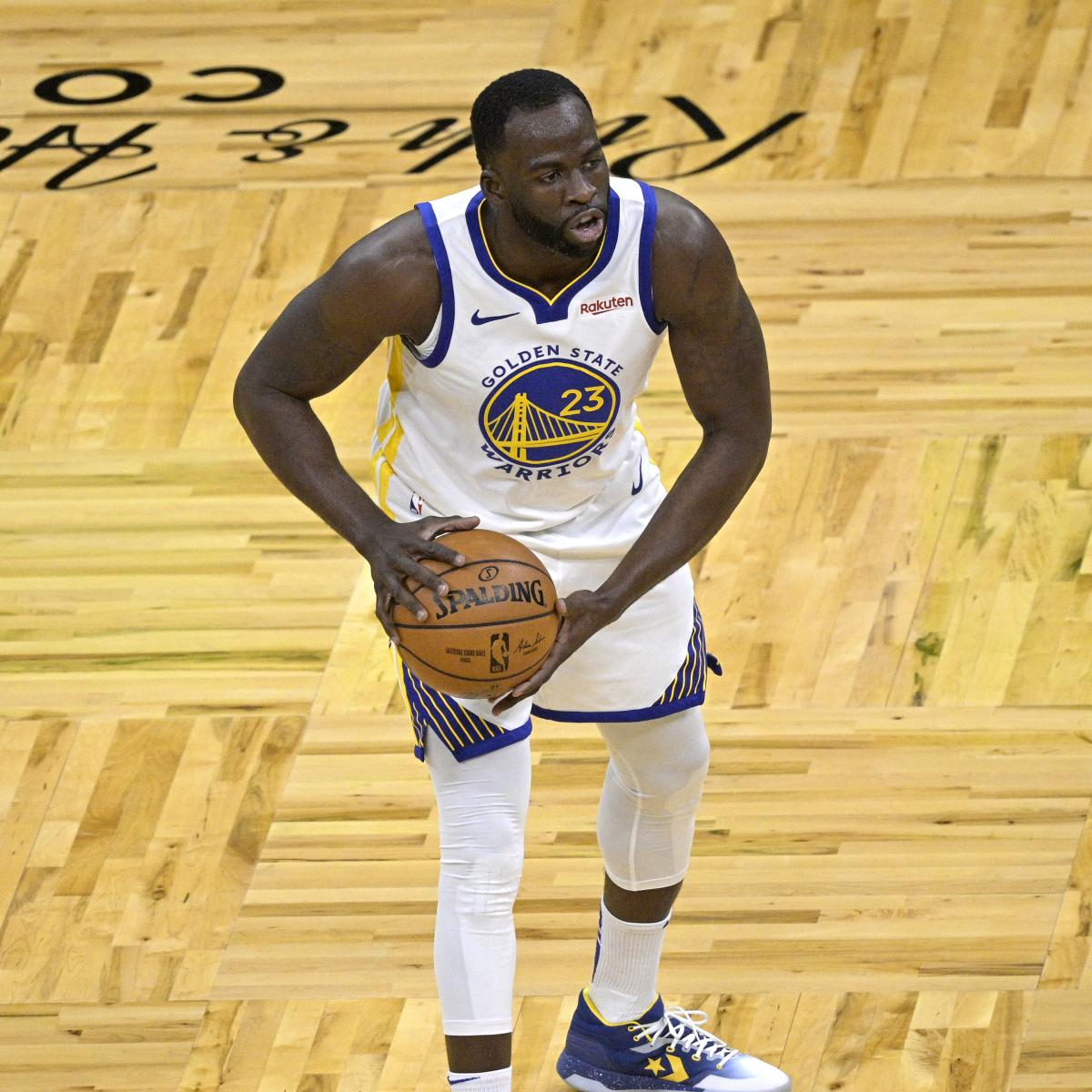 Draymond Green Ruled out for Warriors vs. Raptors with Finger Injury thumbnail
