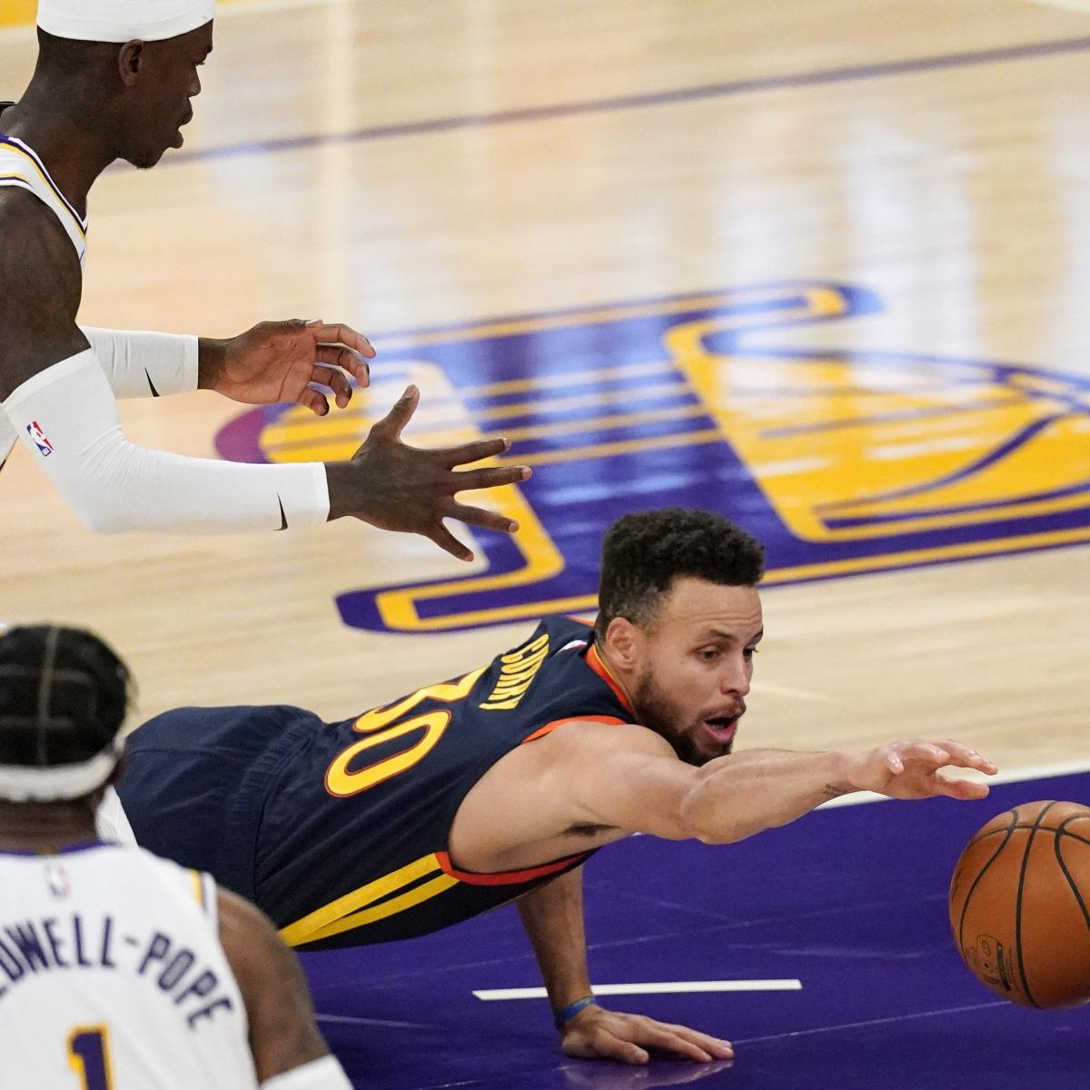 Stephen Curry Talks Warriors' Blowout Loss to Lakers: Teams Want to Beat Us Bad