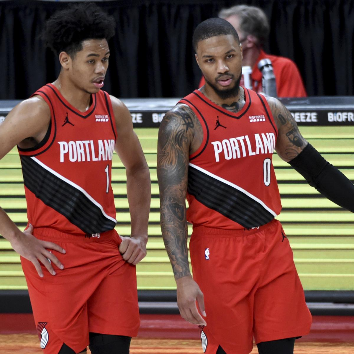 Blazers' Anfernee Simons Will 'Probably' Use Damian Lillard in NBA Dunk Contest
