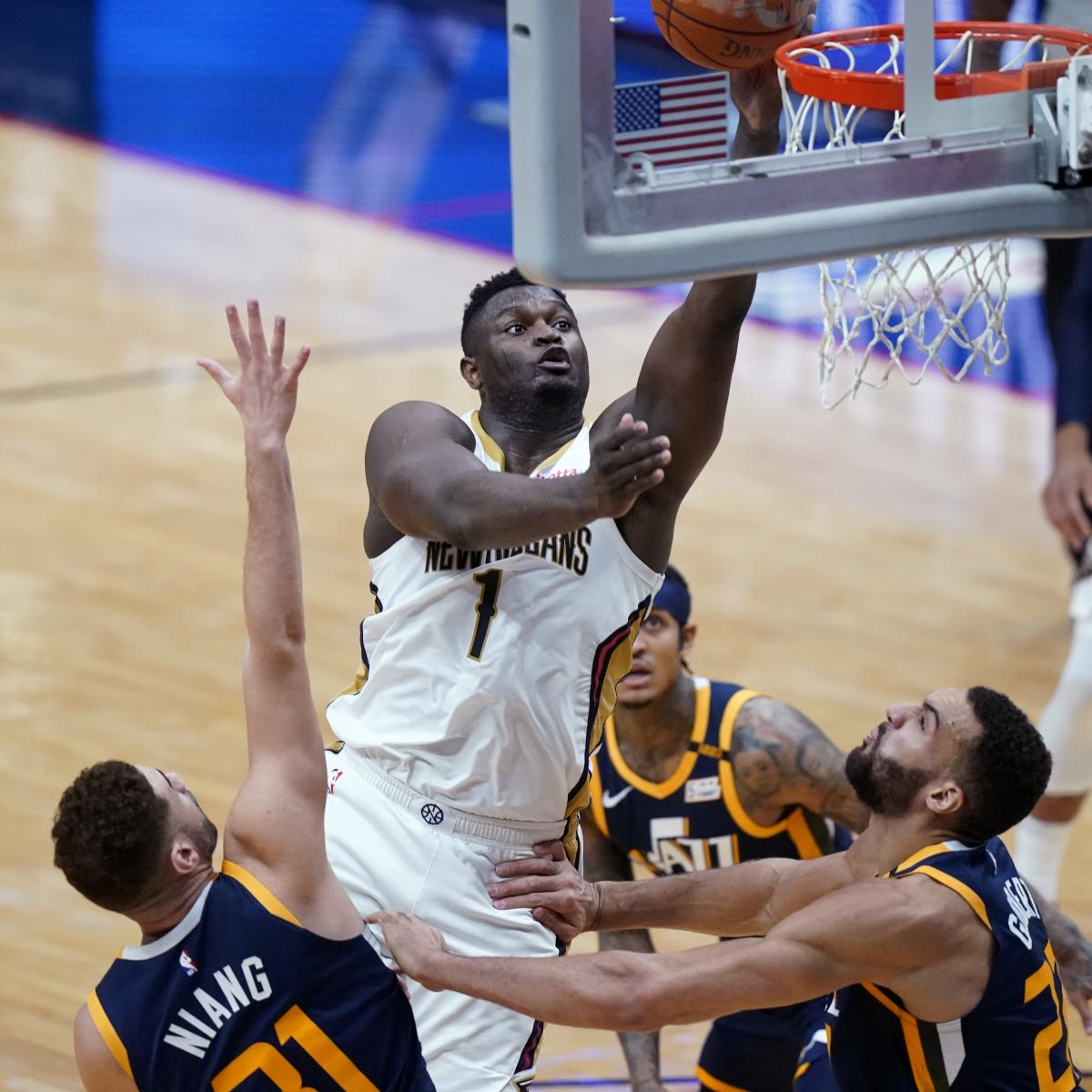 Zion Williamson, Lonzo Ball, Pelicans Hold off Donovan Mitchell, Jazz for Win