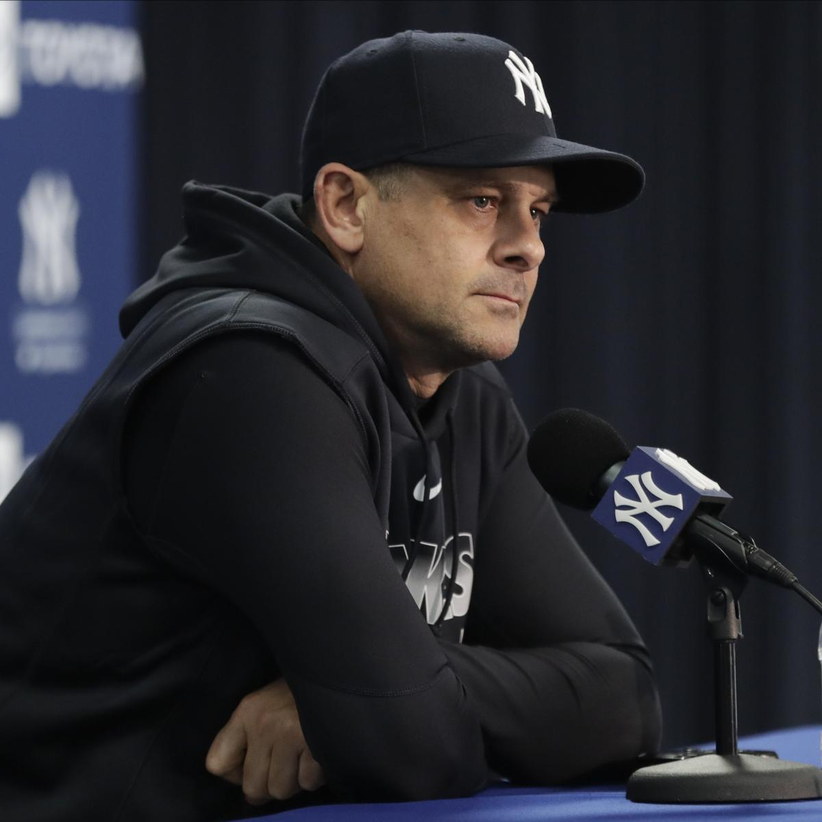 Yankees' Aaron Boone Taking Leave of Absence After Surgery for Pacemaker