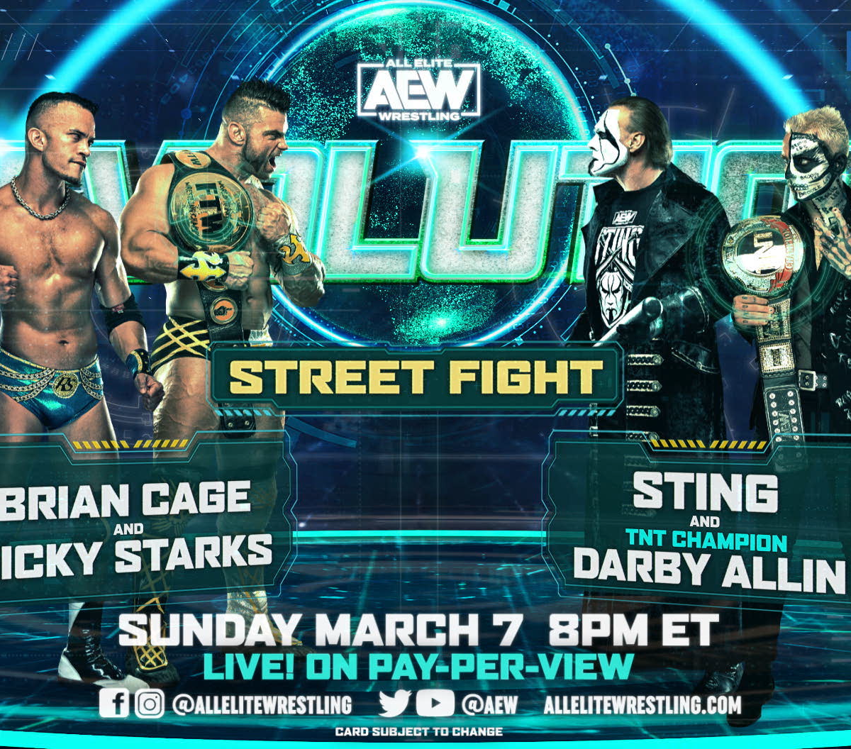 <p>The Way to Watch AEW Revolution: B/R Live-Stream Info, Start Time, Match Card thumbnail