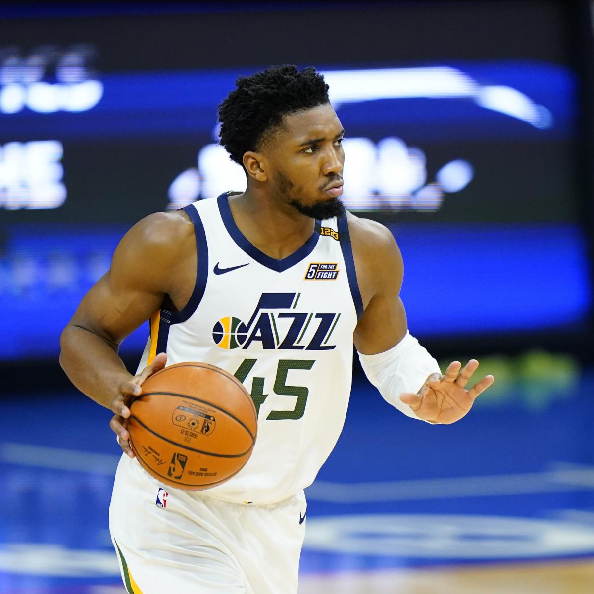 <p>Jazz's Donovan Mitchell, Rudy Gobert Fined for Criticizing Refs After 76ers Loss thumbnail