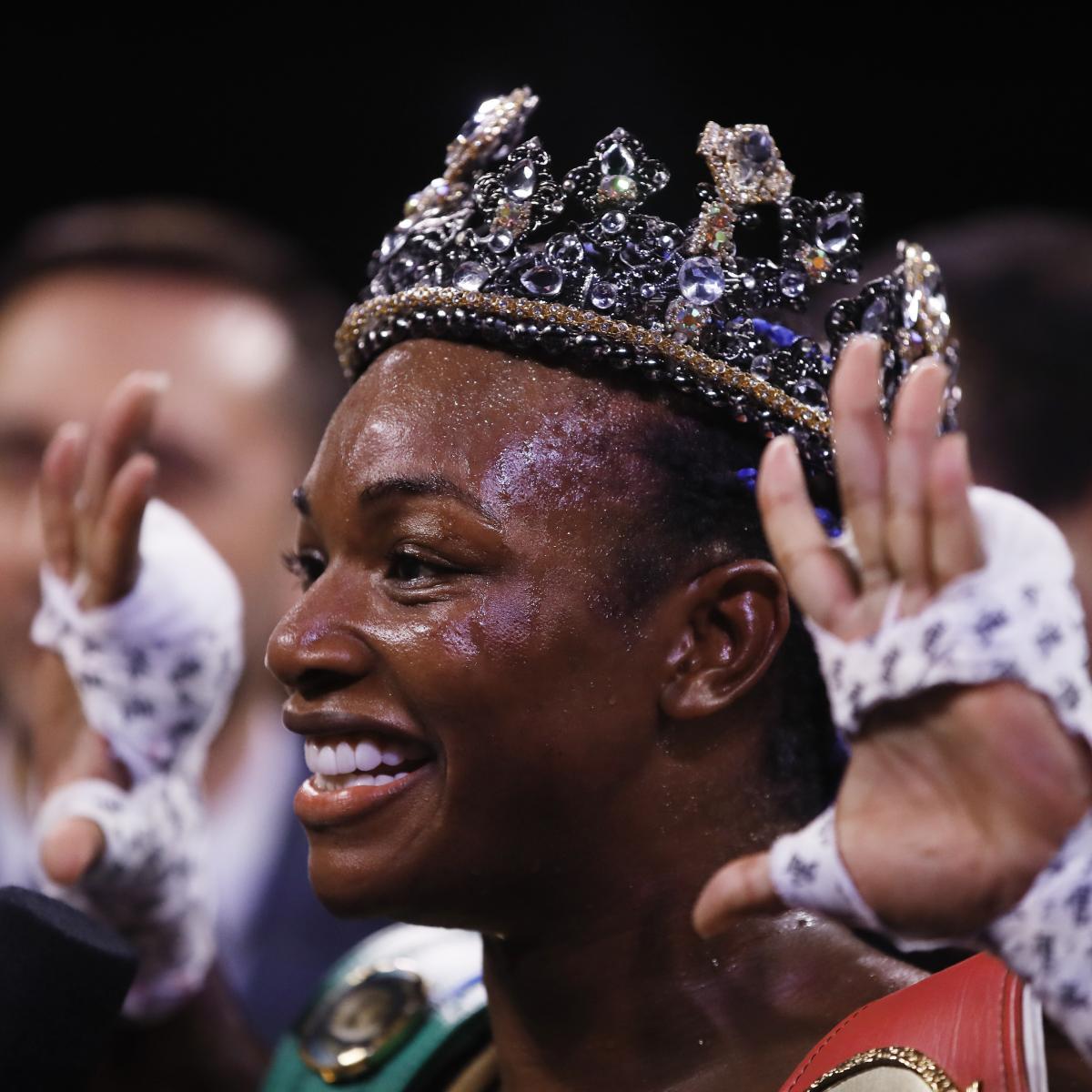 Claressa Shields Dominates, Beats Marie-Eve Dicaire Via Unanimous Decision thumbnail