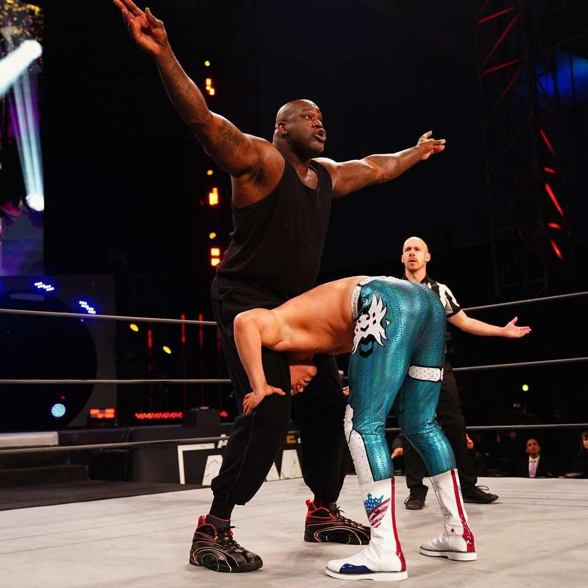 Quick Takes: Shaq's Debut, Lashley as WWE Champ, AEW's Next Big Signing and More