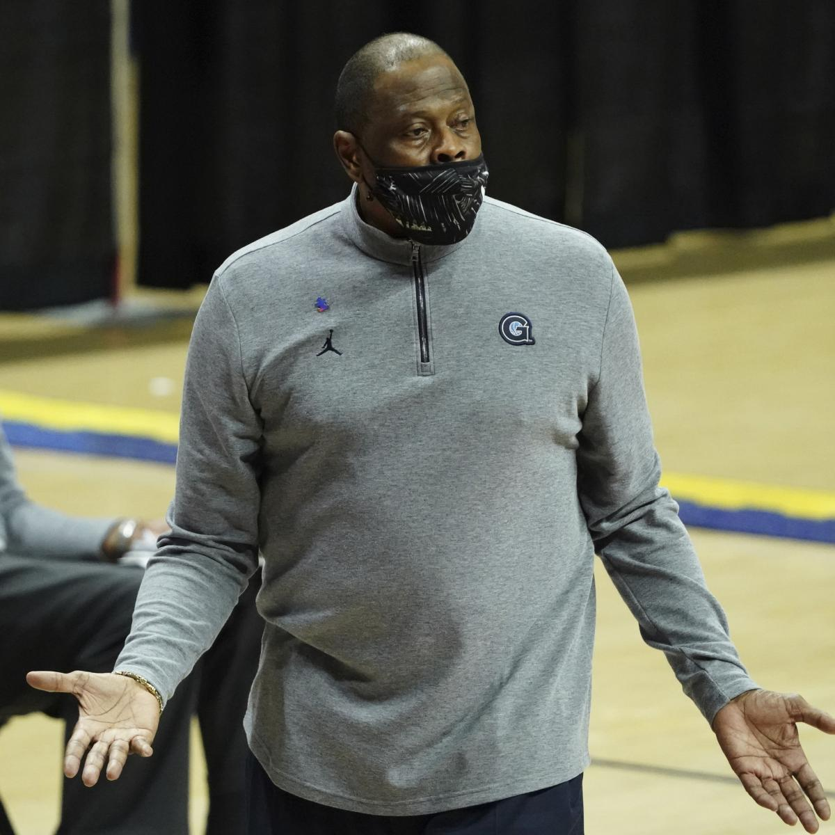 <p>Patrick Ewing Jokes About MSG Security:'They Should Know Who the Hell I Am' thumbnail