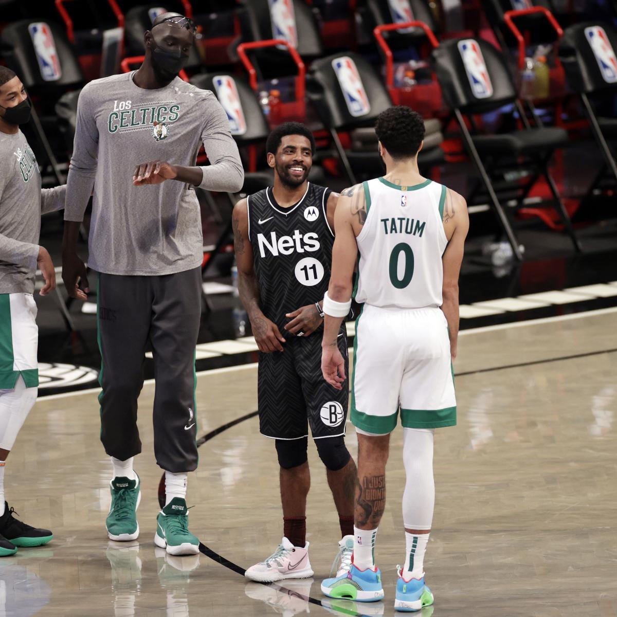 <p>Kyrie Irving Slams Critics for'S--t-Talking' Him, Former Celtics Teammates thumbnail