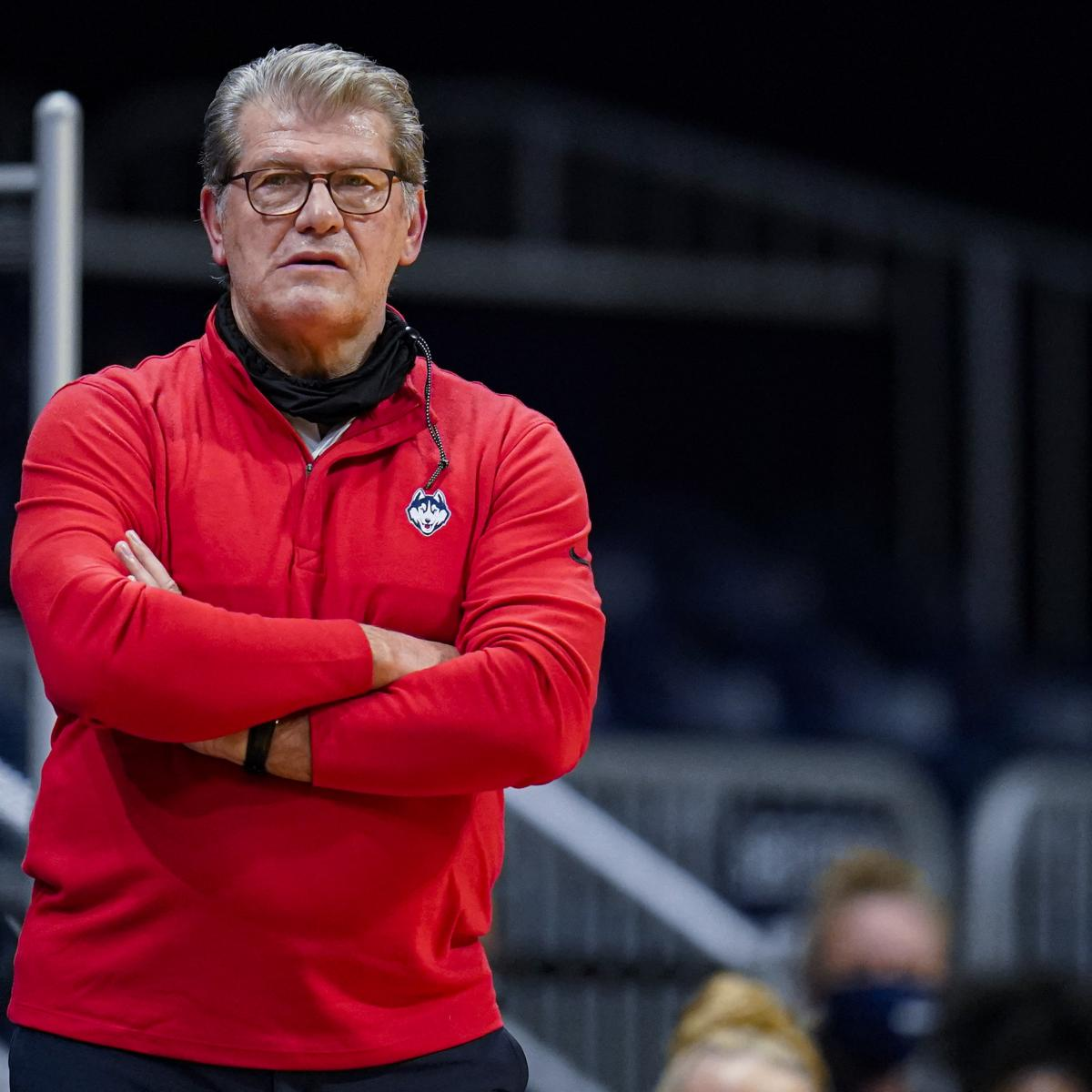 UConn HC Geno Auriemma Tests Positive for COVID-19 Ahead of NCAA Tournament