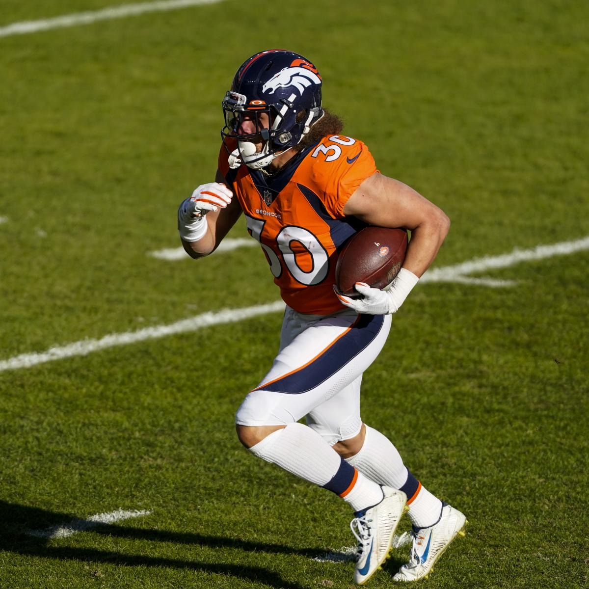 Phillip Lindsay, Broncos Agree to Part Ways; Denver Rescinds RFA Tender