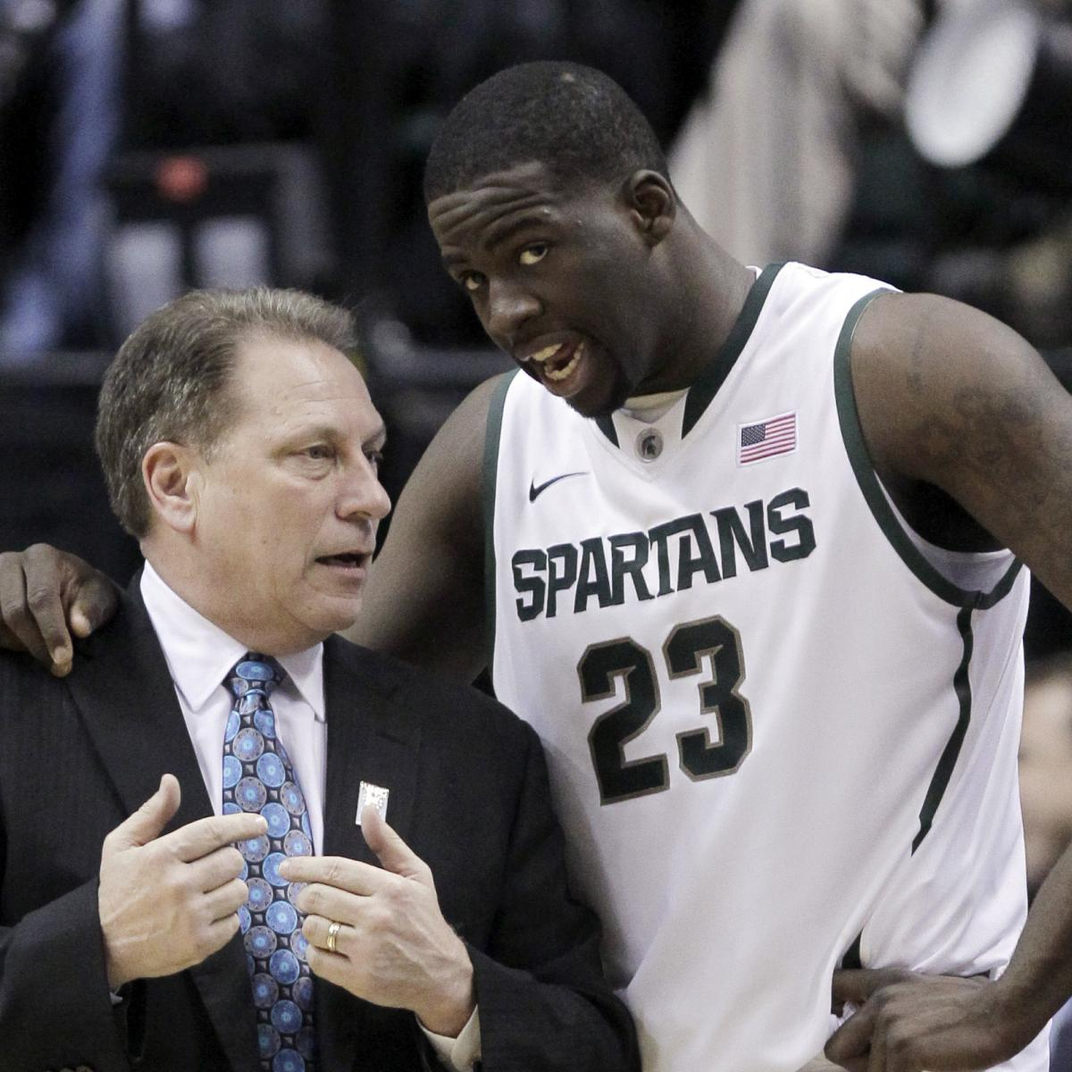 Draymond Green on Tom Izzo-Gabe Brown Altercation: Typical MSU Exchange...Relax thumbnail