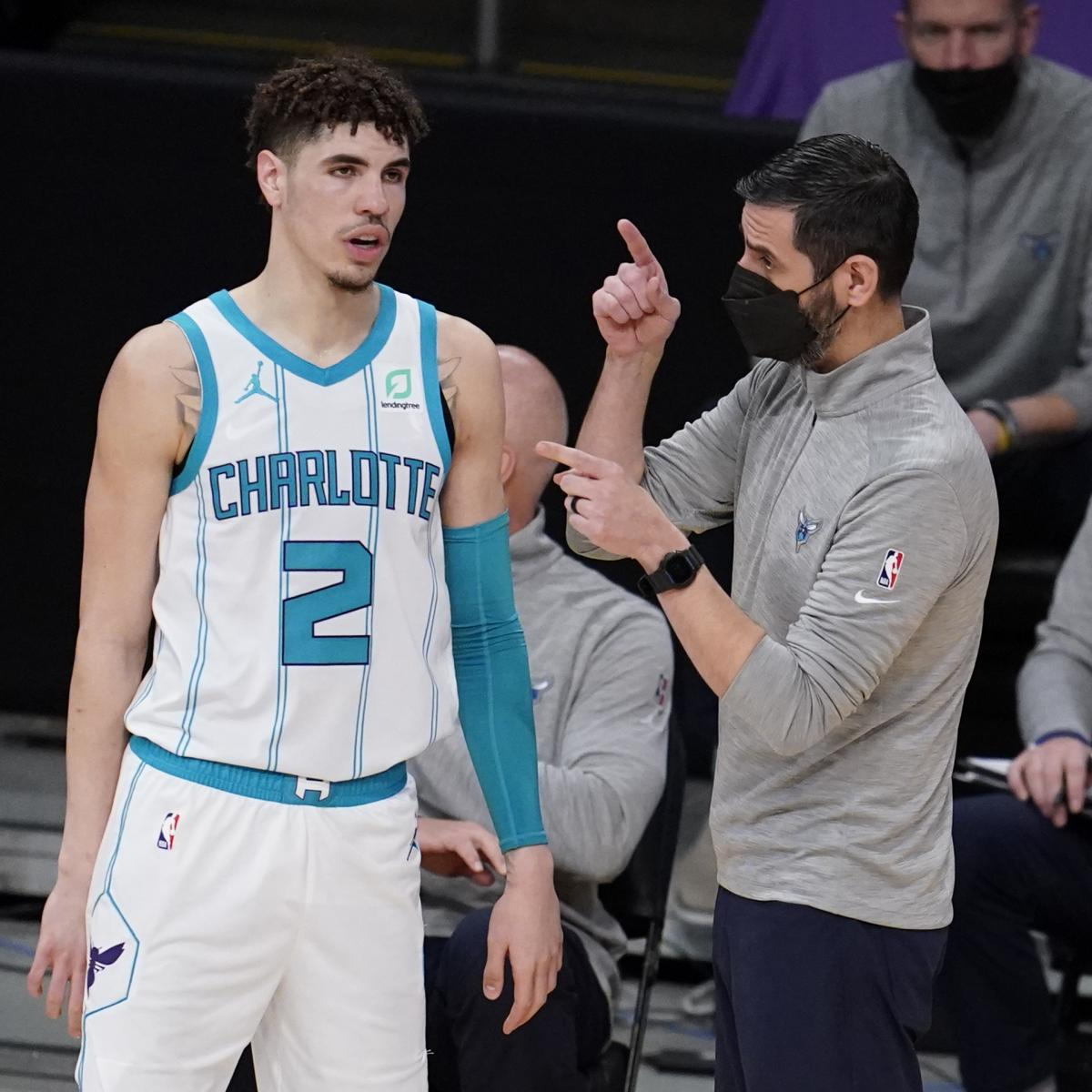 Hornets HC Comments on Rumors LaMelo Ball Will Miss Season with Wrist Injury