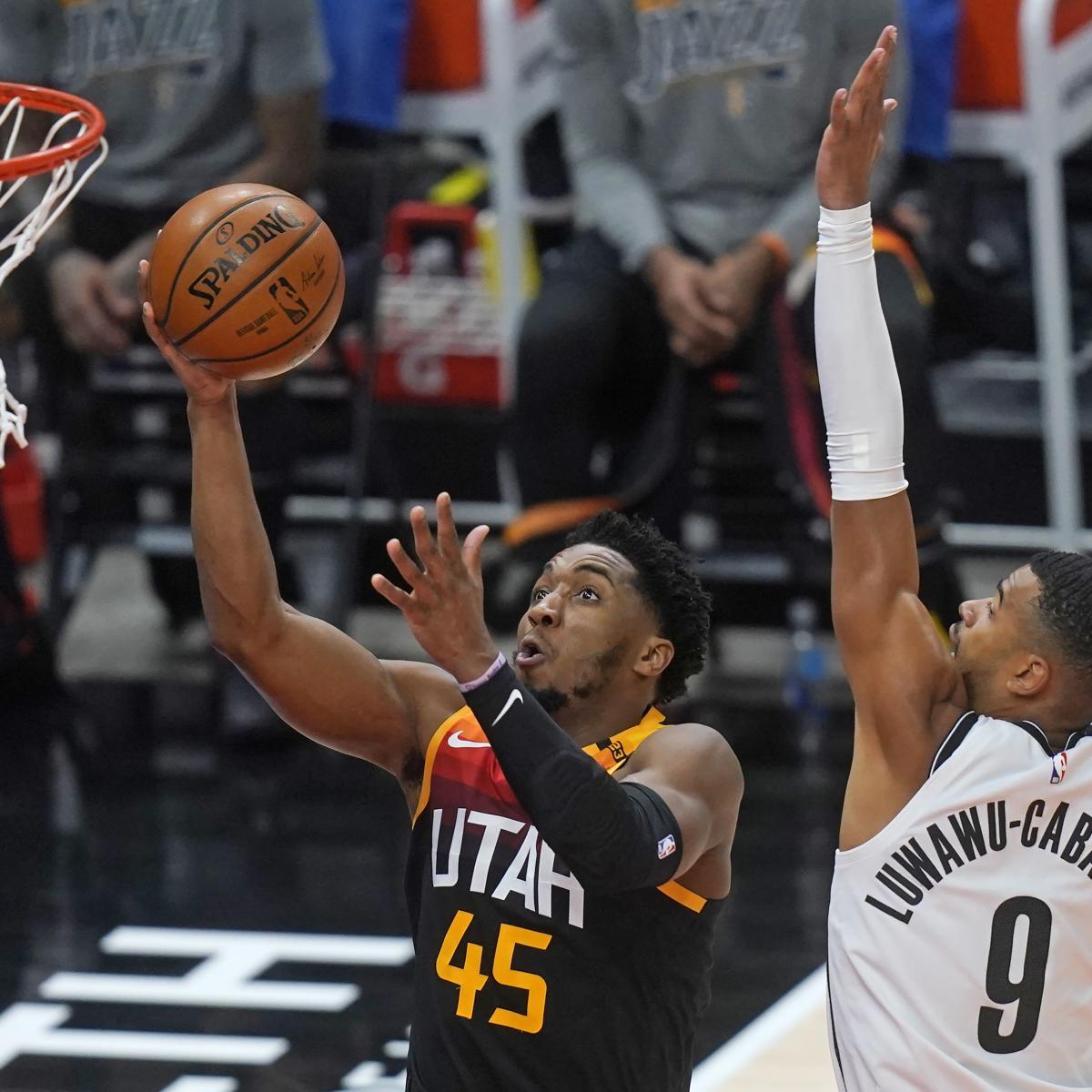 Donovan Mitchell, Jazz Dominate Short-Handed Nets in 118-88 Win thumbnail