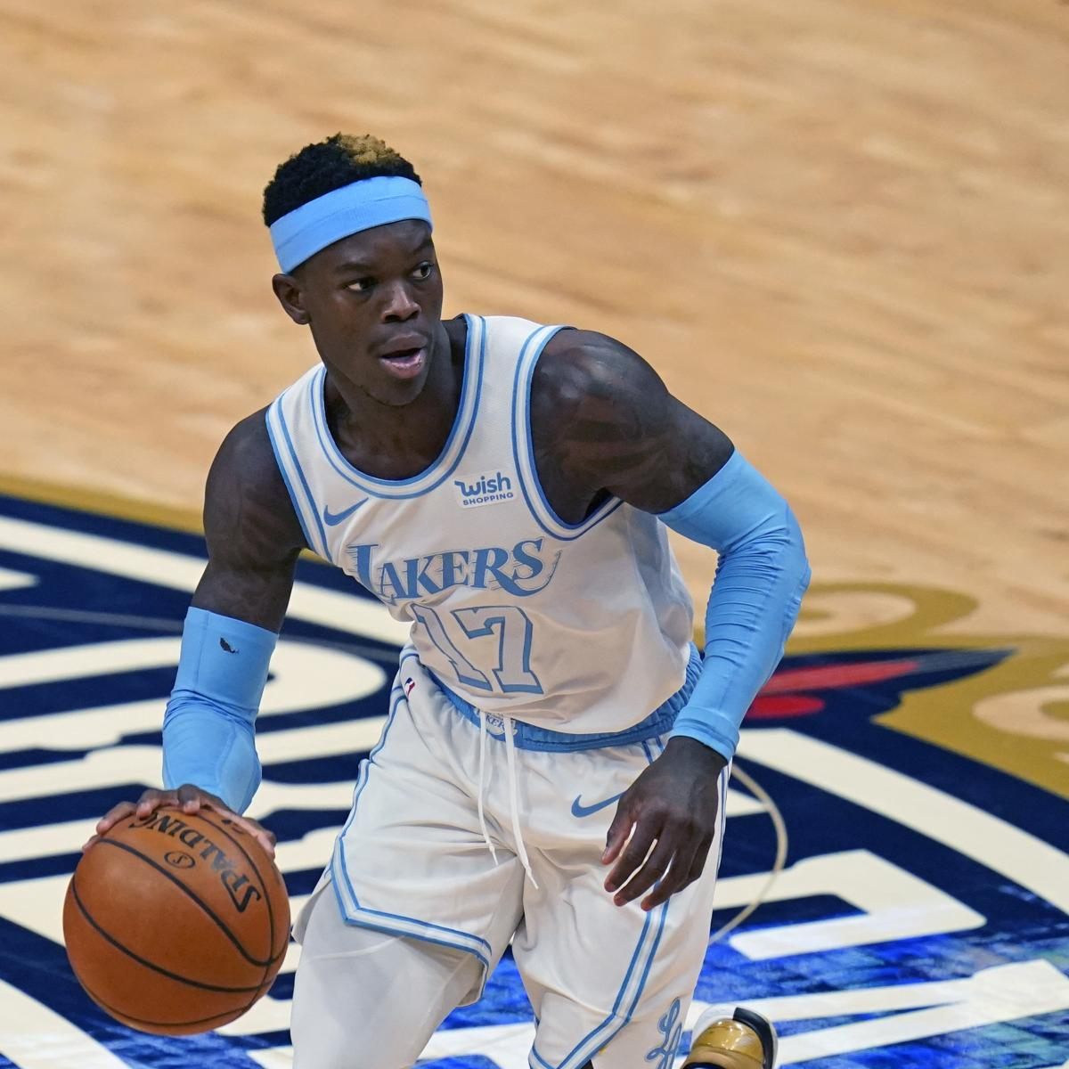 Lakers Rumors: Dennis Schroder, LA'Remain Far Apart' in Contract Talks thumbnail