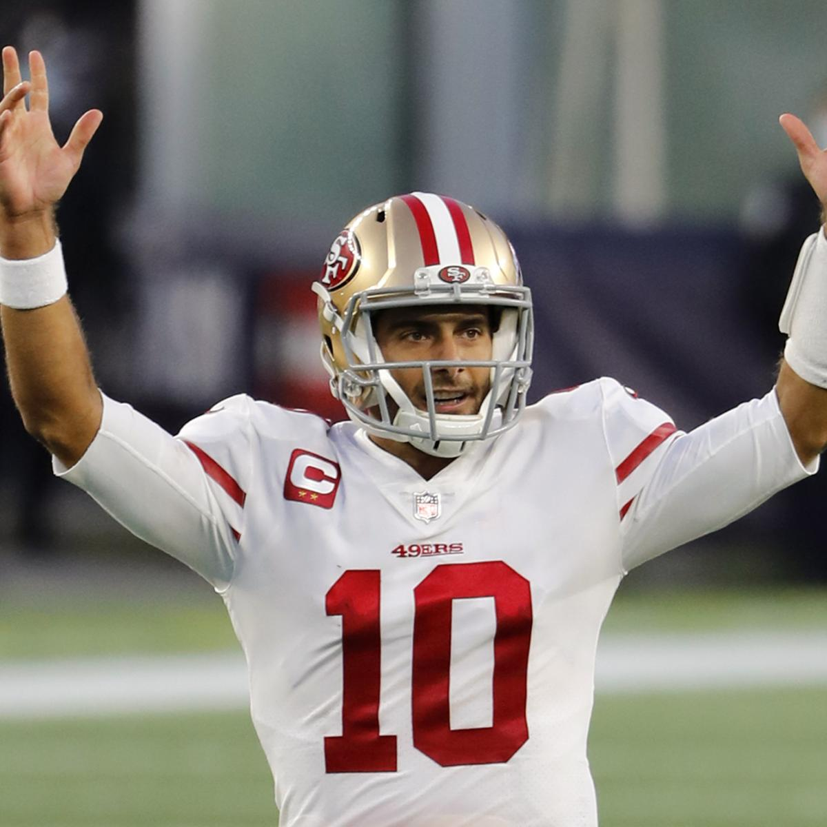 Potential Landing Spots Trade Packages for Jimmy G After 49ers Trade Up – Bleacher Report