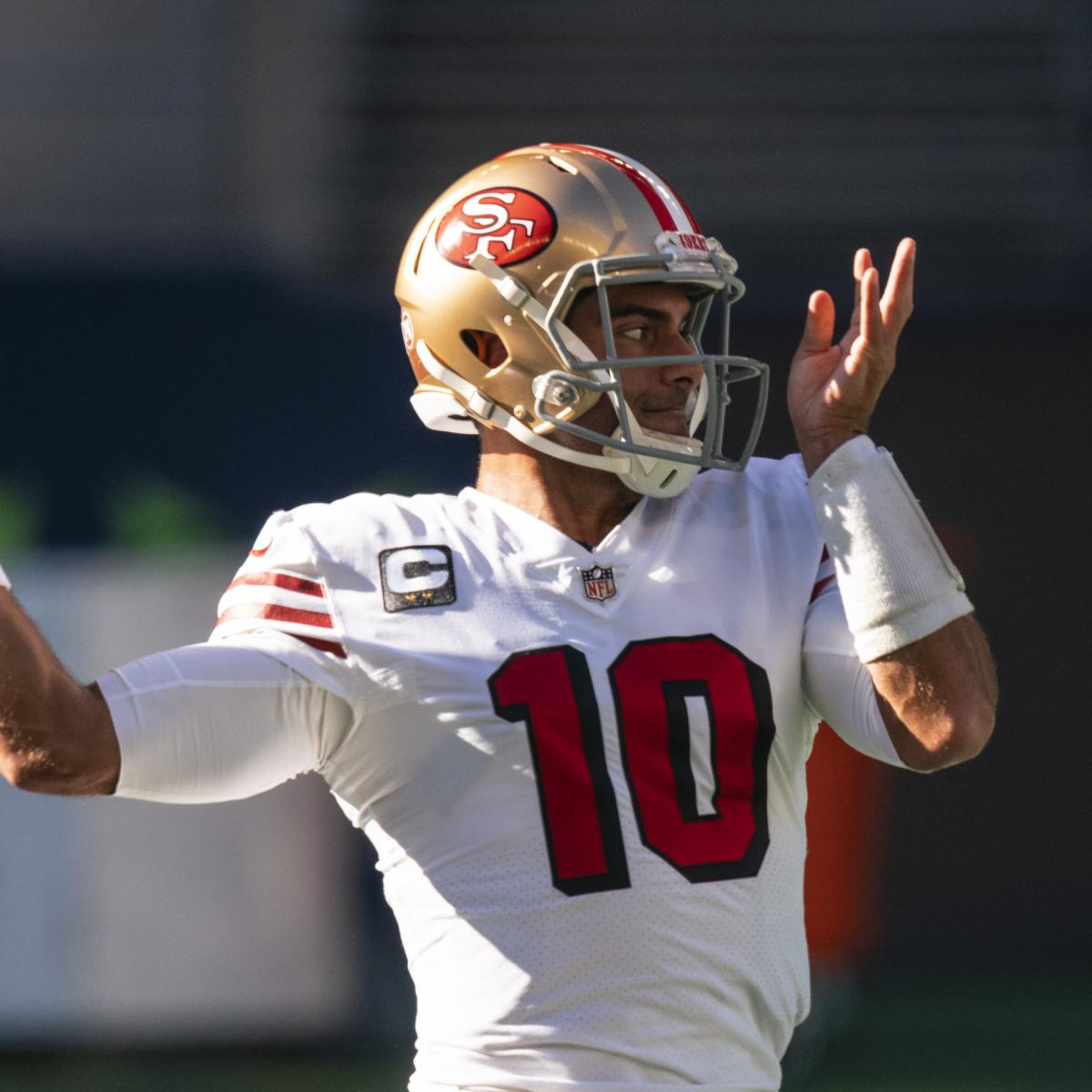Jimmy Garoppolo Trade Rumors: Patriots Have 'Consistent' Interest in 49ers QB thumbnail