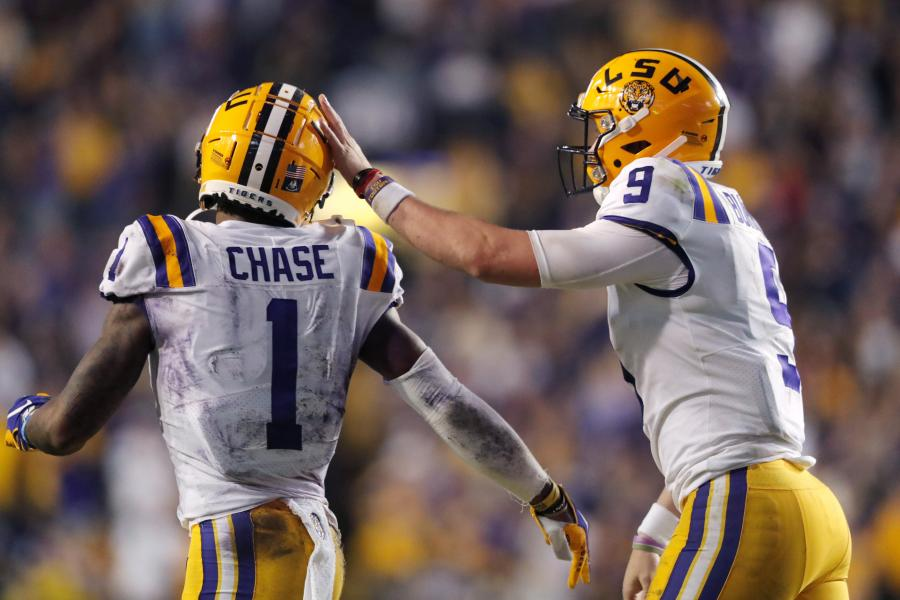 A Joe Burrow-Ja'Marr Chase Reunion Could Be NFL's Next Great Offense |  Bleacher Report | Latest News, Videos and Highlights