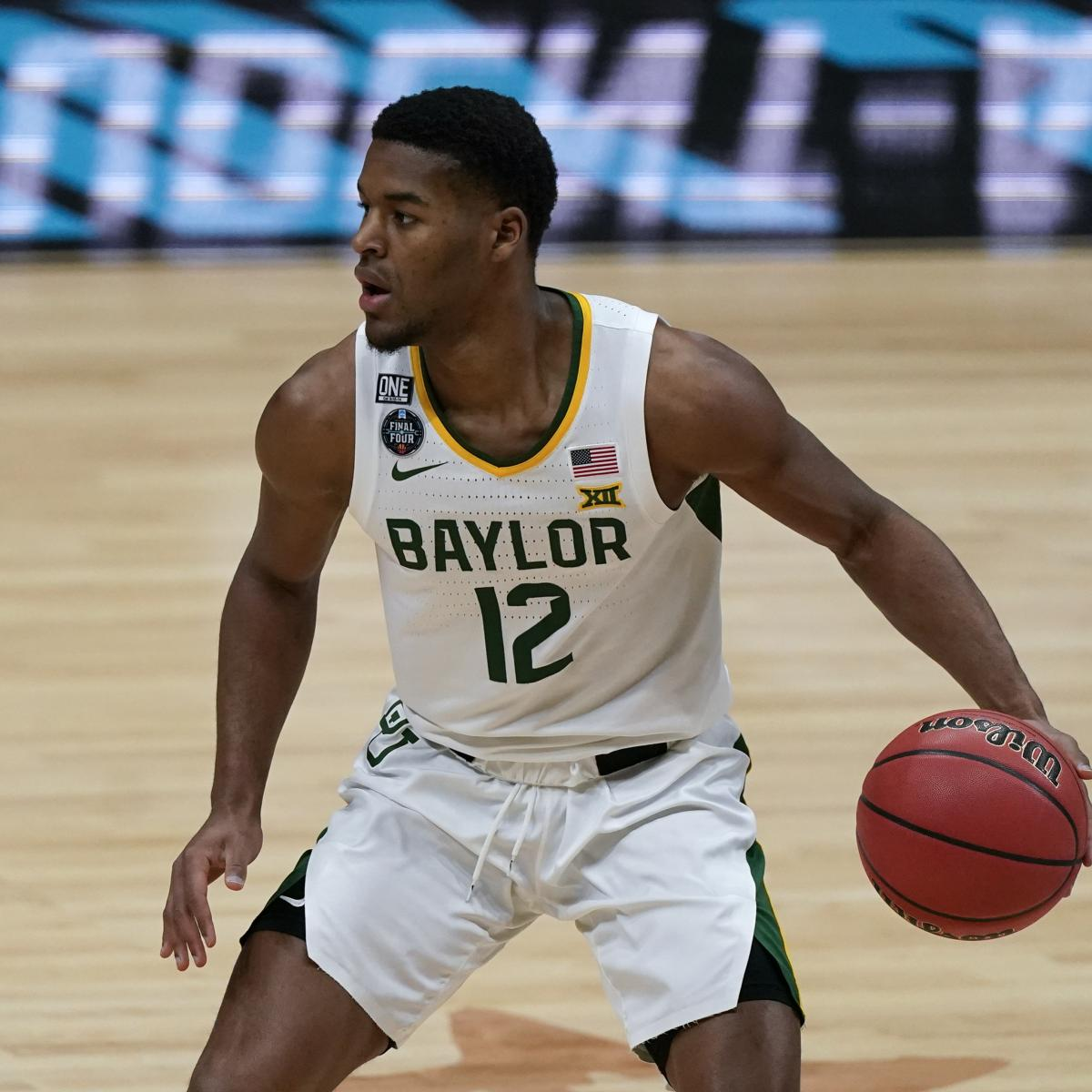 2021 NBA Mock Draft: Updated 1st-Round Predictions Before NCAA Championship thumbnail