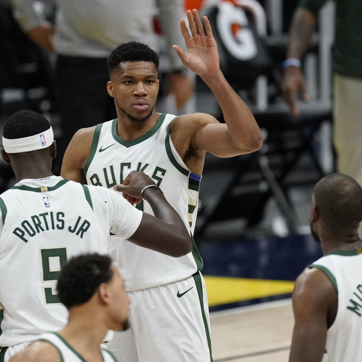Bucks Clinch 2021 NBA Playoff Spot; Latest East Standings, Postseason Picture thumbnail