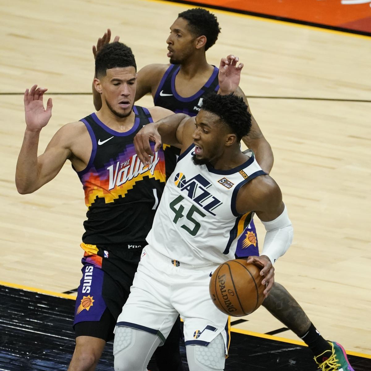 Devin Booker, Chris Paul, Suns Hang on for OT Win vs. Donovan Mitchell, Jazz thumbnail