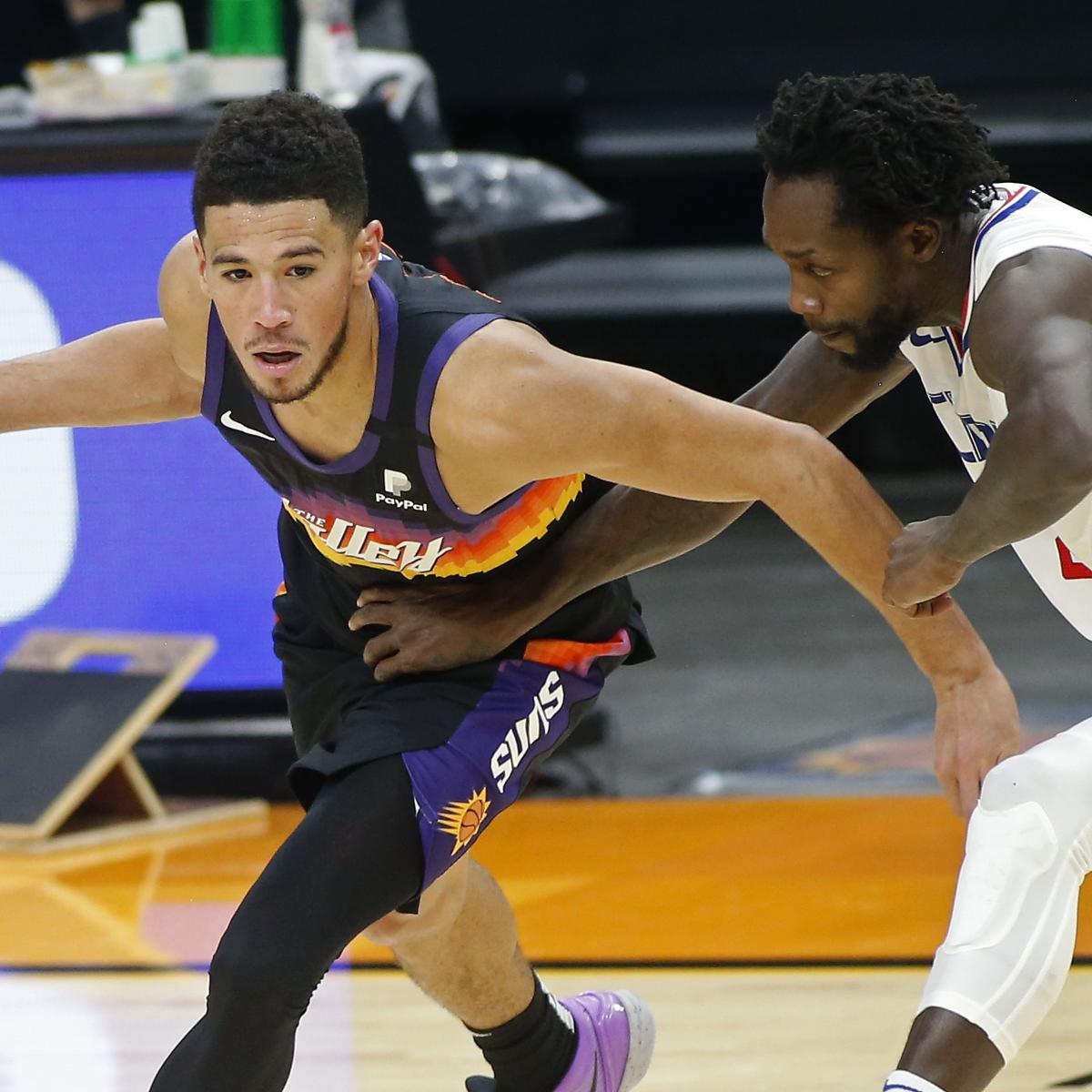 Best NBA Same-Game Parlay, Betting Props for Lakers vs. Heat; Suns vs. Clippers thumbnail