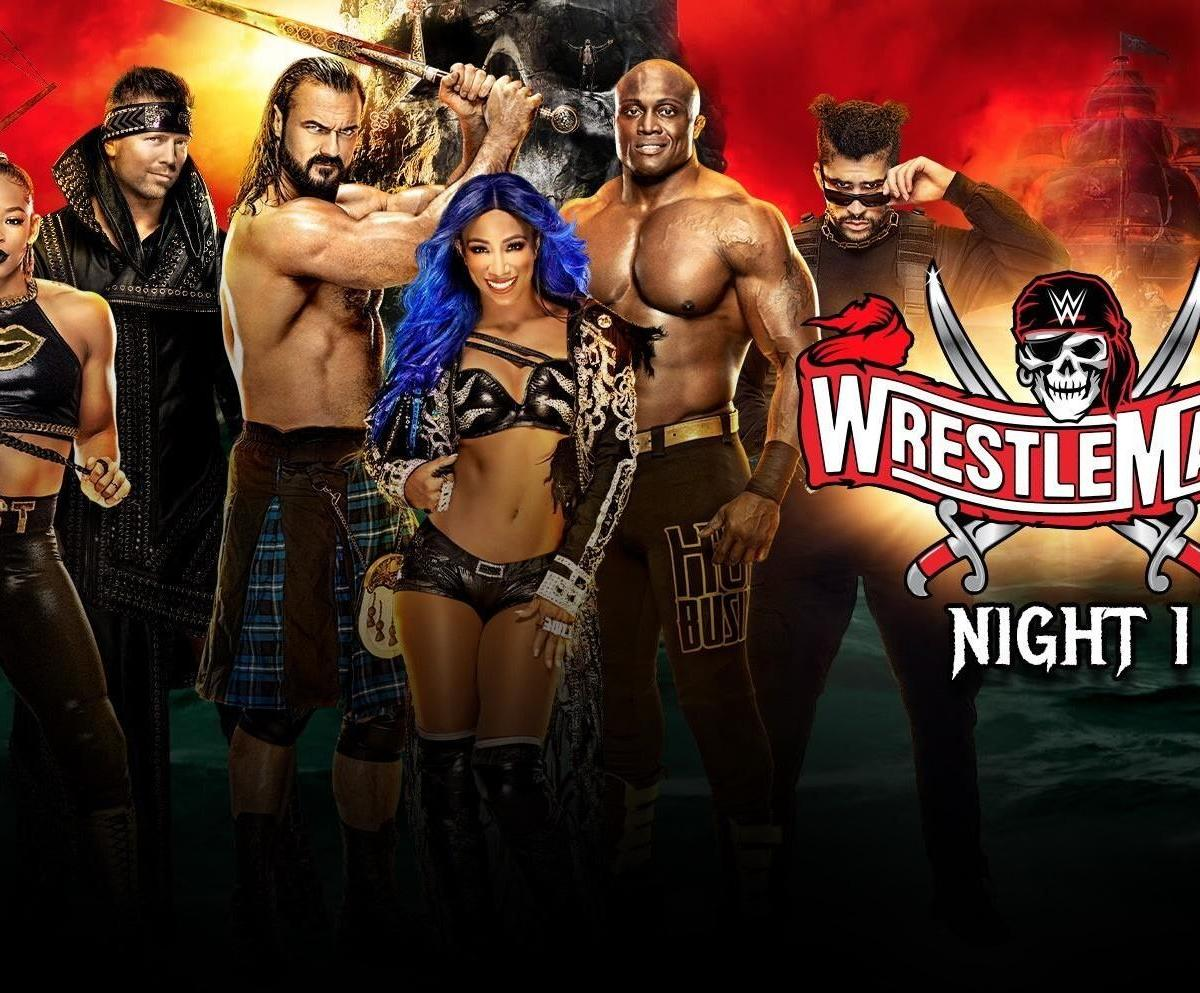 WWE WrestleMania 2021 Results: Reviewing Top Highlights, Low Points from Night 1 thumbnail