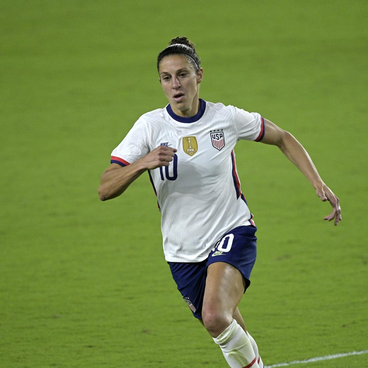 USWNT vs. Sweden: 2021 Friendly Odds, Time, Live Stream and TV Schedule