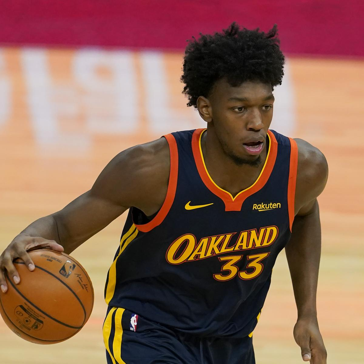 Report: Warriors' James Wiseman Feared to Be out for Season After Knee Injury thumbnail