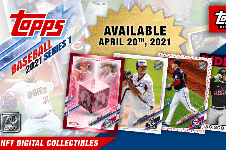 Topps Reveals 1st MLB Card NFT Collection with April Launch Date