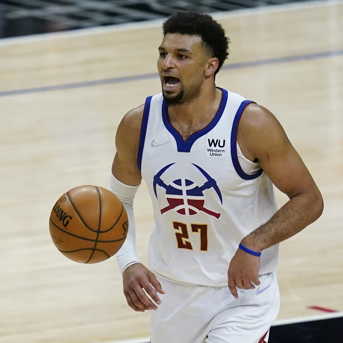 Nuggets' Jamal Murray Exits vs. Warriors with Apparent Knee Injury thumbnail
