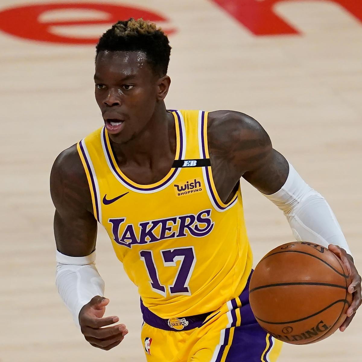 Knicks Rumors: Lakers' Dennis Schroder to Be Among NYK's Free-Agent Targets