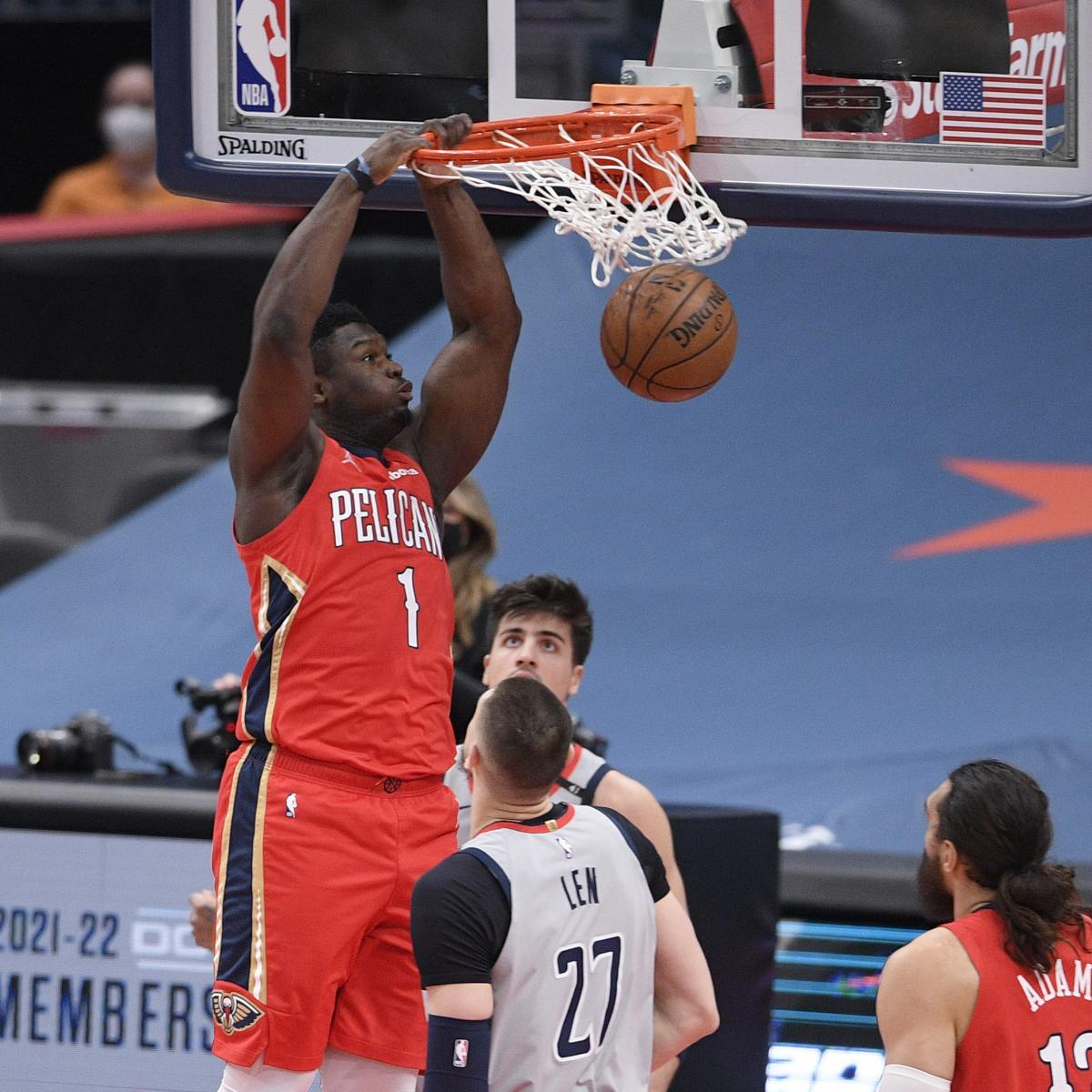 Pelicans' Zion Williamson 'Very Tempted' to Participate in NBA Dunk Contest
