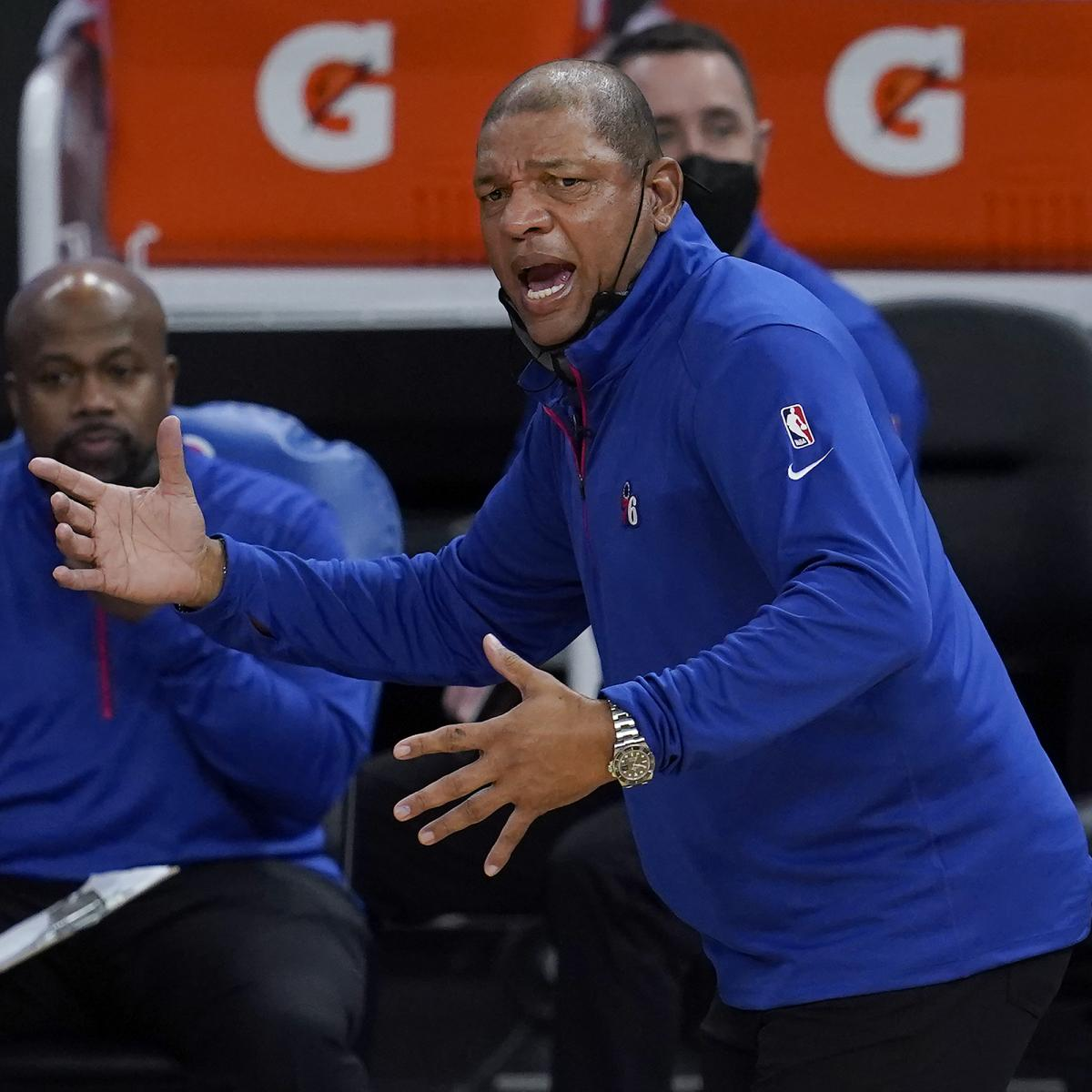 Doc Rivers Says 76ers Were 'Soft' Defensively in 124-117 Loss to Bucks