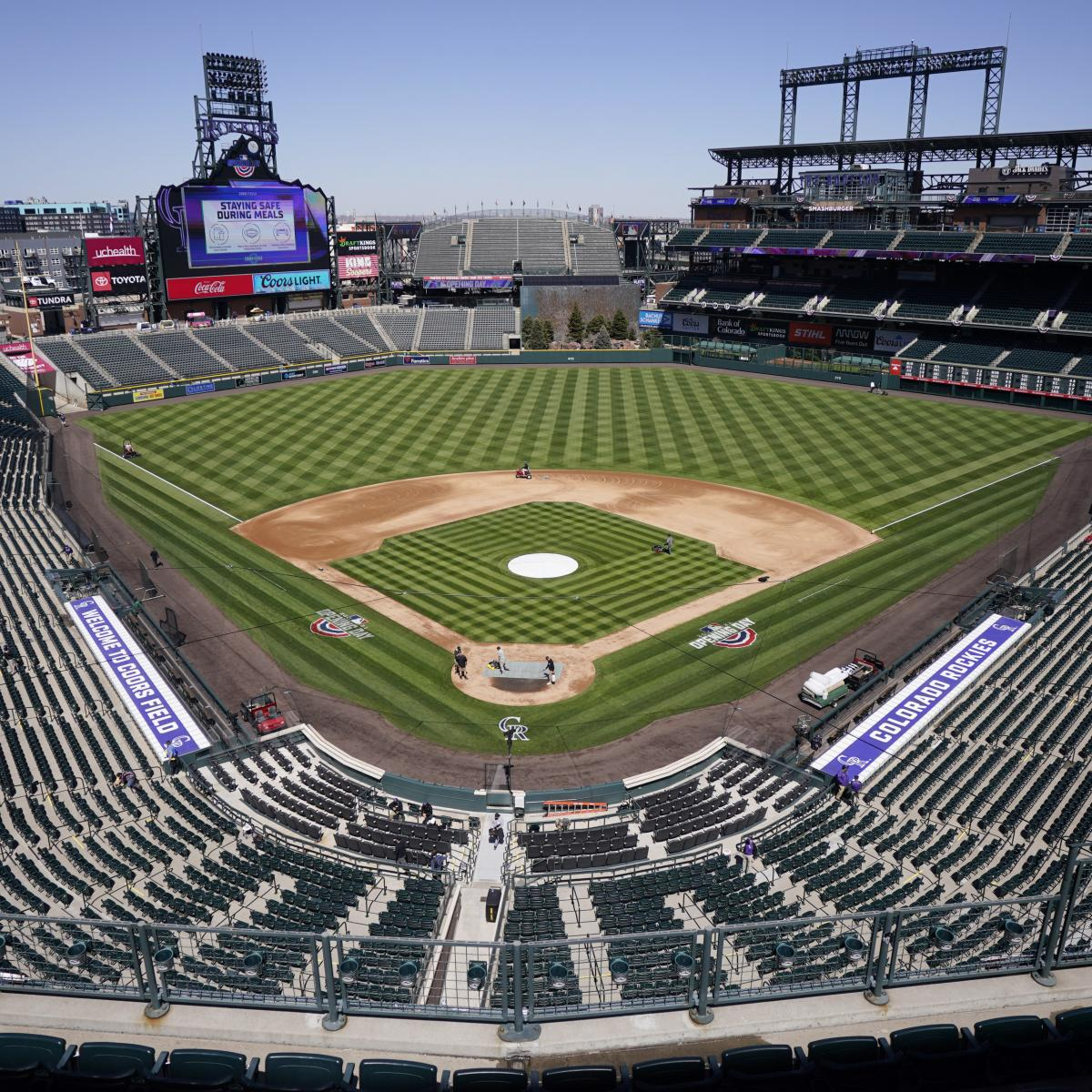 MLB Unveils Logo for 2021 All-Star Game at Colorado Rockies' Coors Field thumbnail