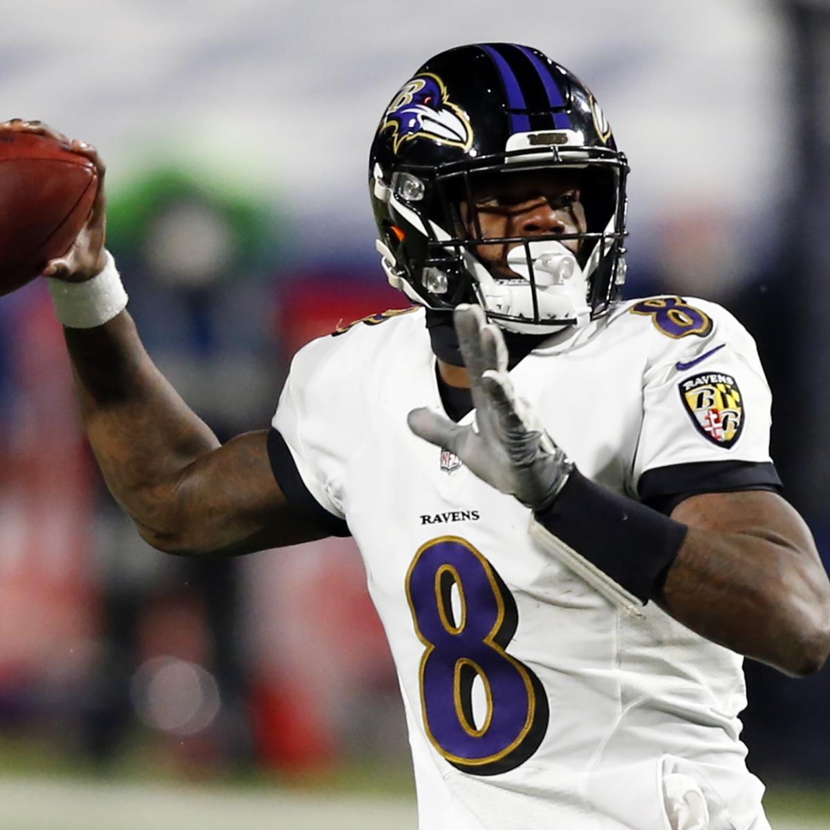 Ravens Rumors: Baltimore'Definitely Targeting' WR in Round 1 of 2021 NFL Draft thumbnail