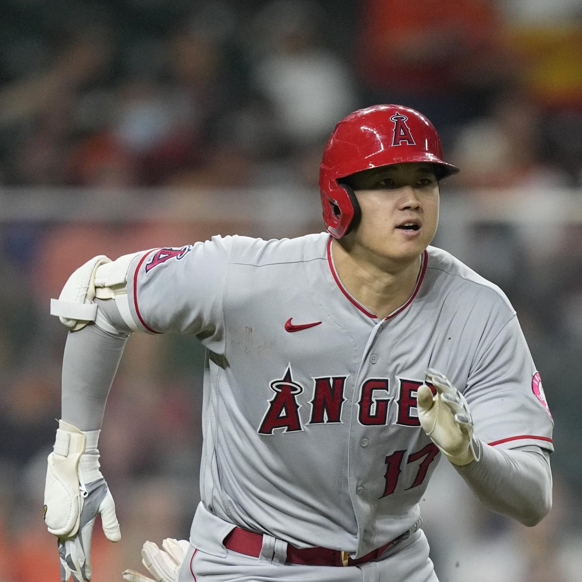 Shohei Ohtani 1st Pitcher Since Babe Ruth to Make Start While Leading MLB in HR