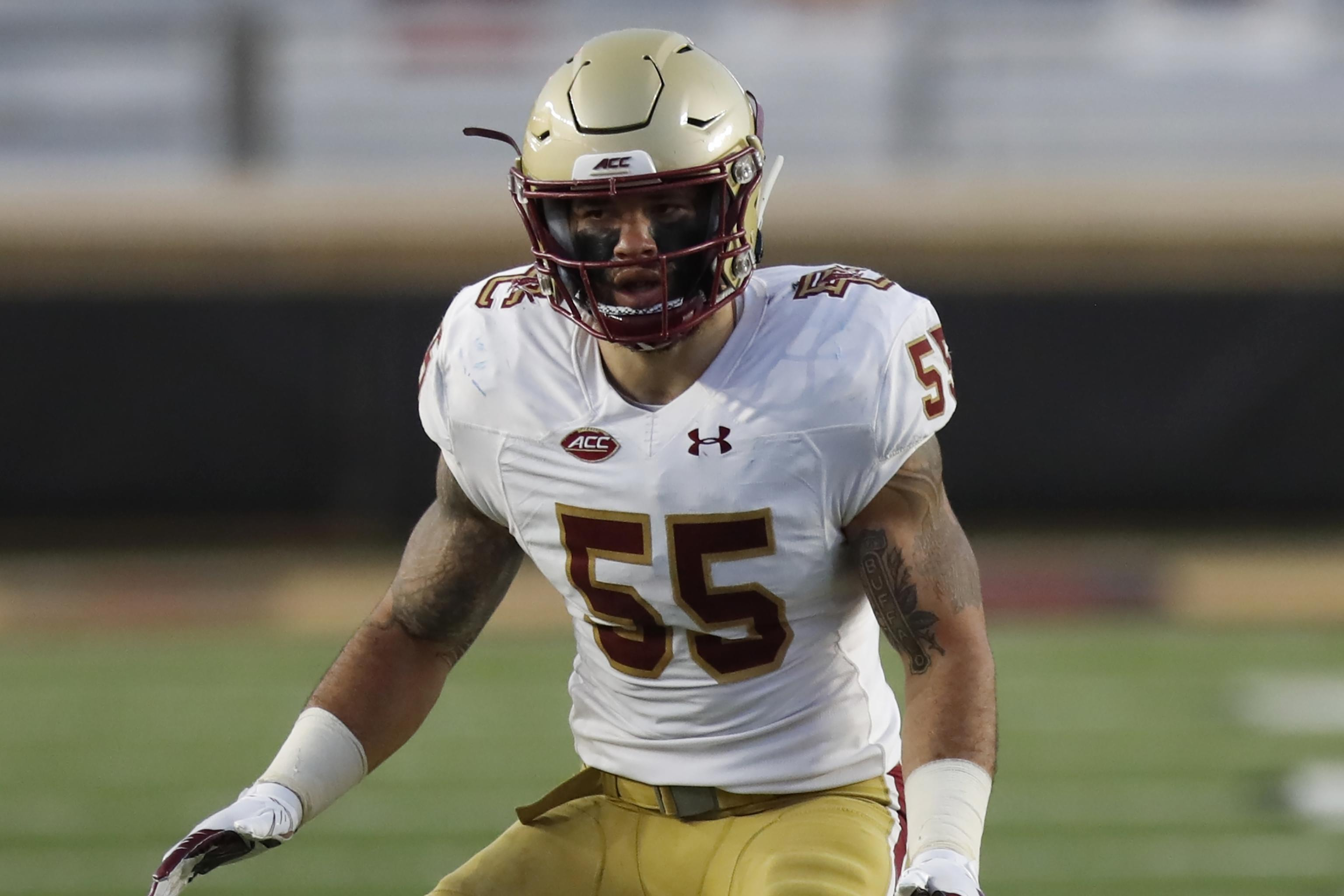 Isaiah McDuffie NFL Draft 2021: Scouting Report for Green Bay Packers LB   Bleacher Report   Latest News, Videos and Highlights