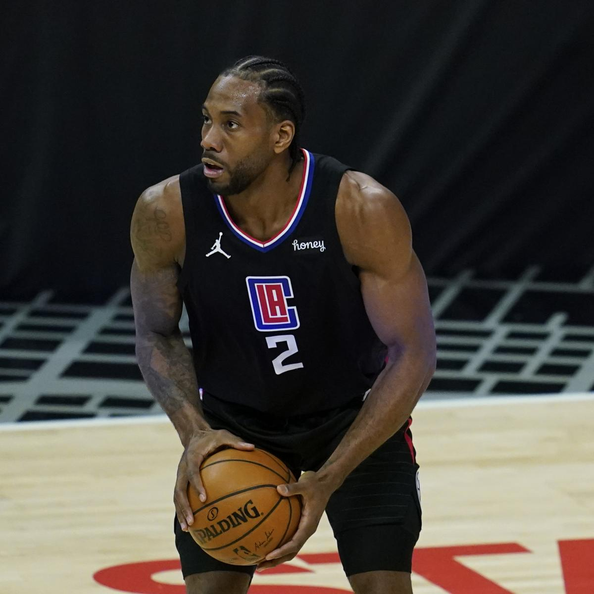 Kawhi Leonard: 'I'll Be Good' After Knee Injury Scare in Clippers' Game 4 Win