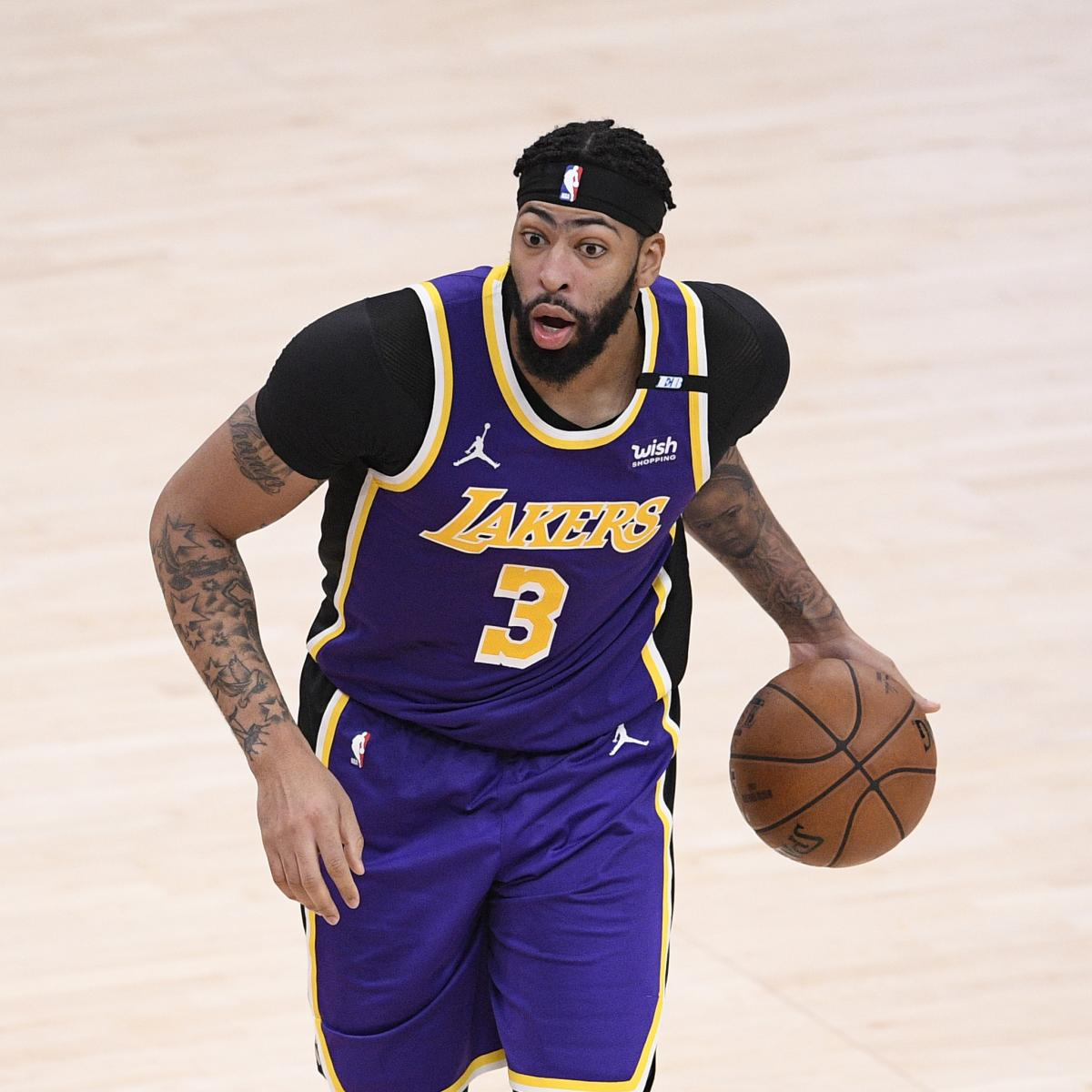 Anthony Davis Says 'The Only Way Is Up' for Lakers After Loss to Raptors thumbnail