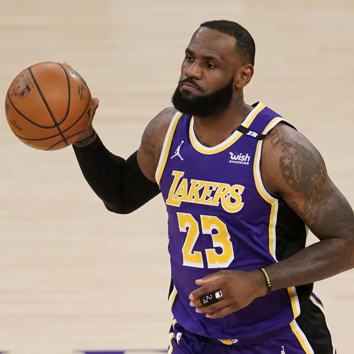 LeBron James Says Creator of 'S--t' NBA Play-In Tournament 'Needs to Be Fired' thumbnail