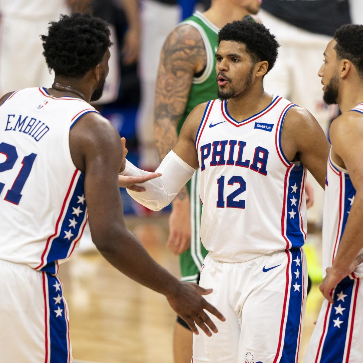 <p>76ers Clinch East's No. 1 Seed, Home-Court Advantage in 2021 NBA Playoffs thumbnail