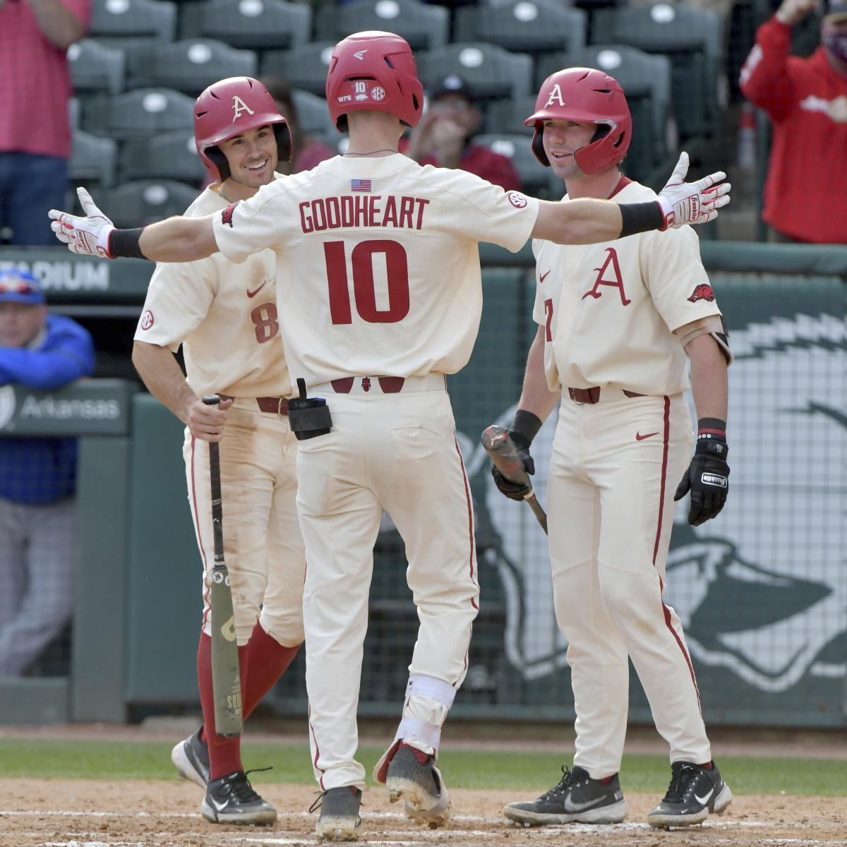 NCAA Baseball Rankings 2021: Latest Top 25 D1 RPI, Team Records and Standings