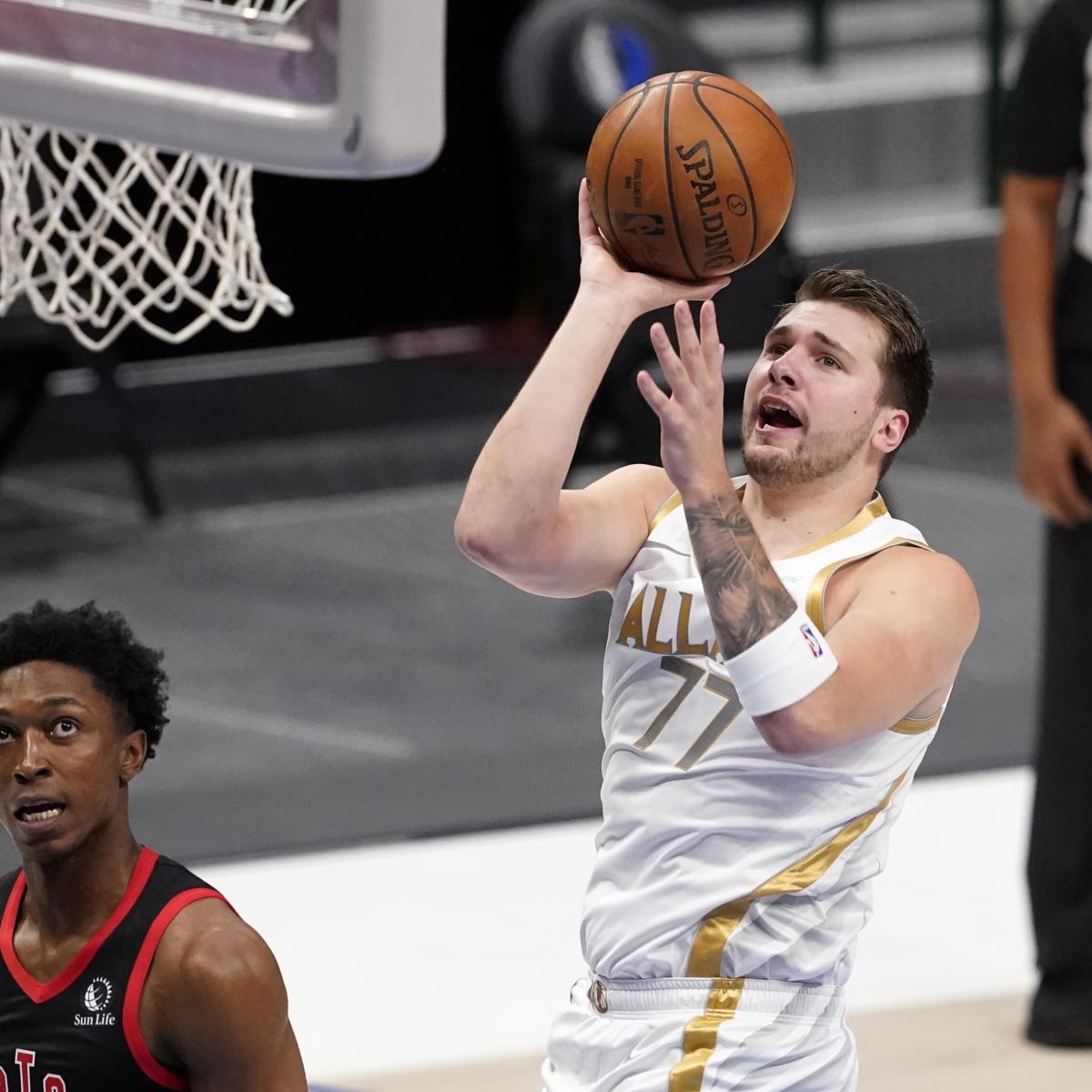 <p>Mavericks Clinch 2021 NBA Playoff Berth; Latest Standings, Postseason Picture thumbnail